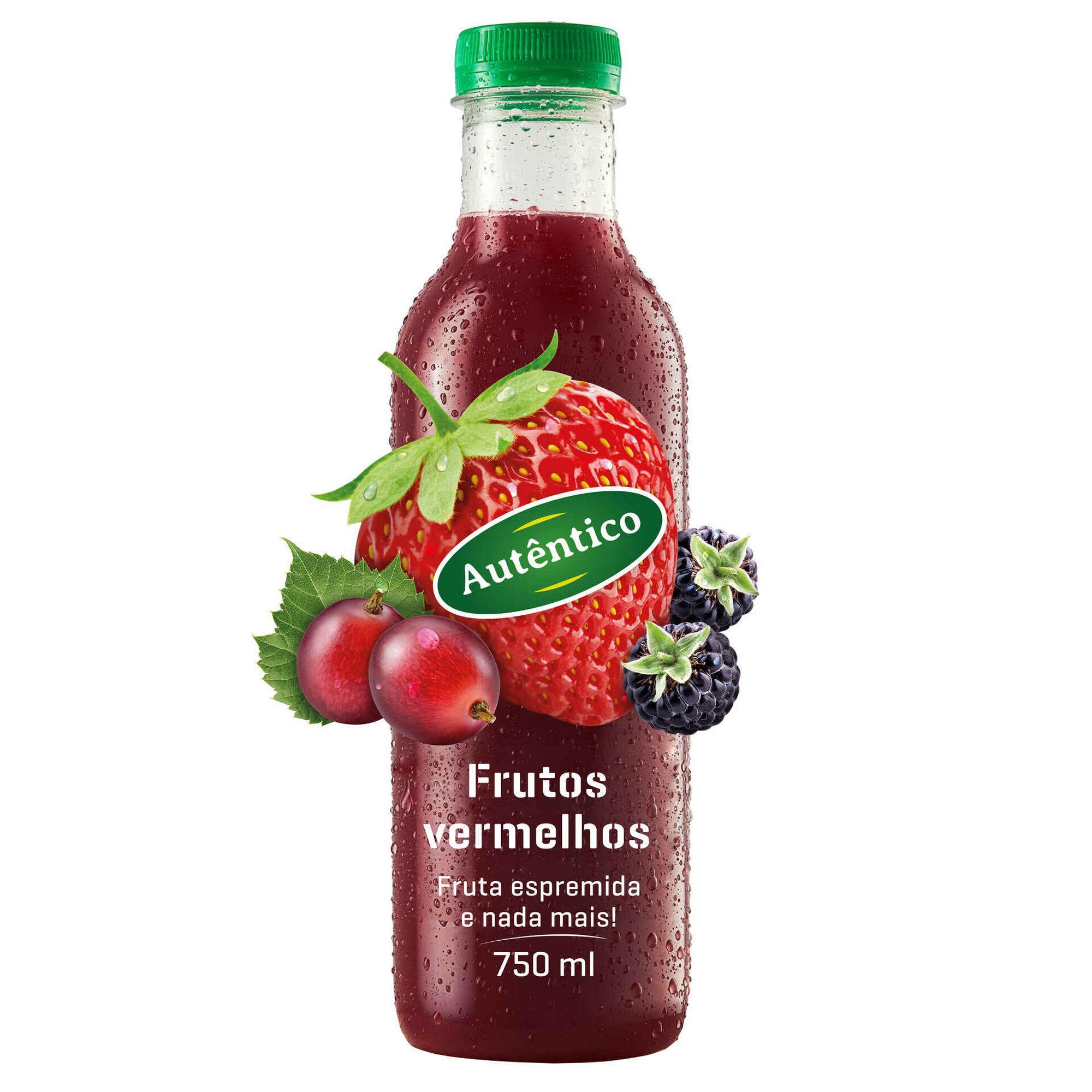Sumo Frutos Vermelhos