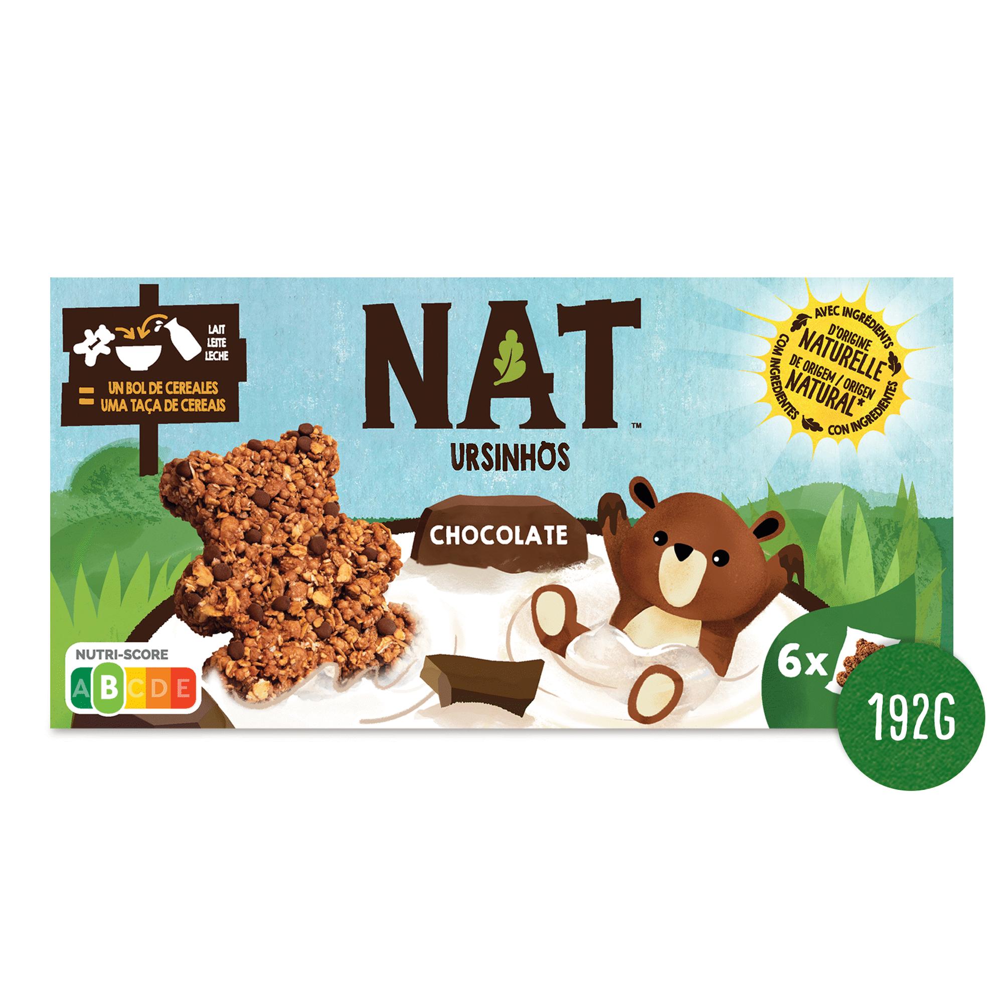 Cereais Ursinhos Chocolate Nat