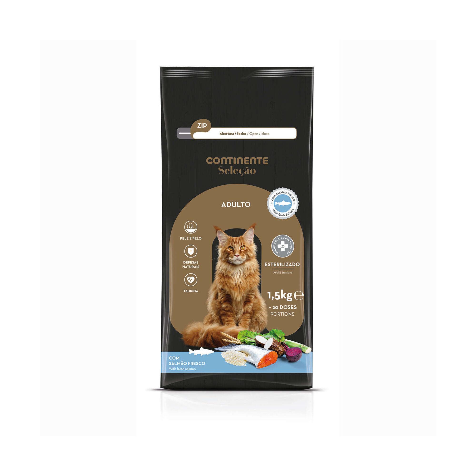 Ração para Gato Esterilizado Atum