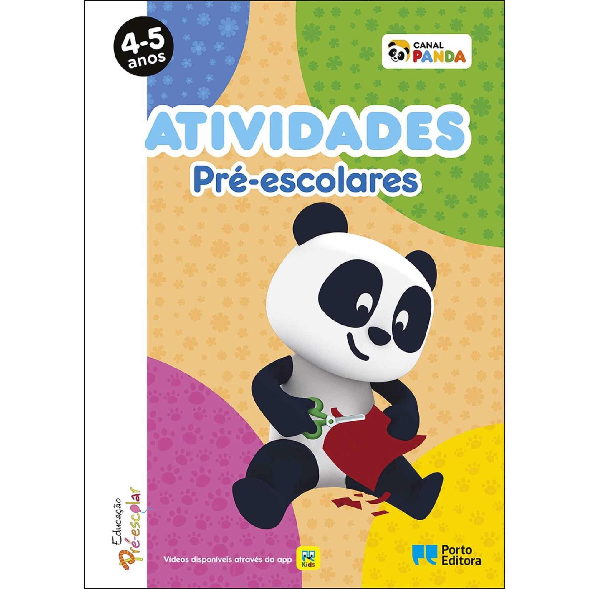 Atividades Pré-escolares Panda - 4-5 Anos