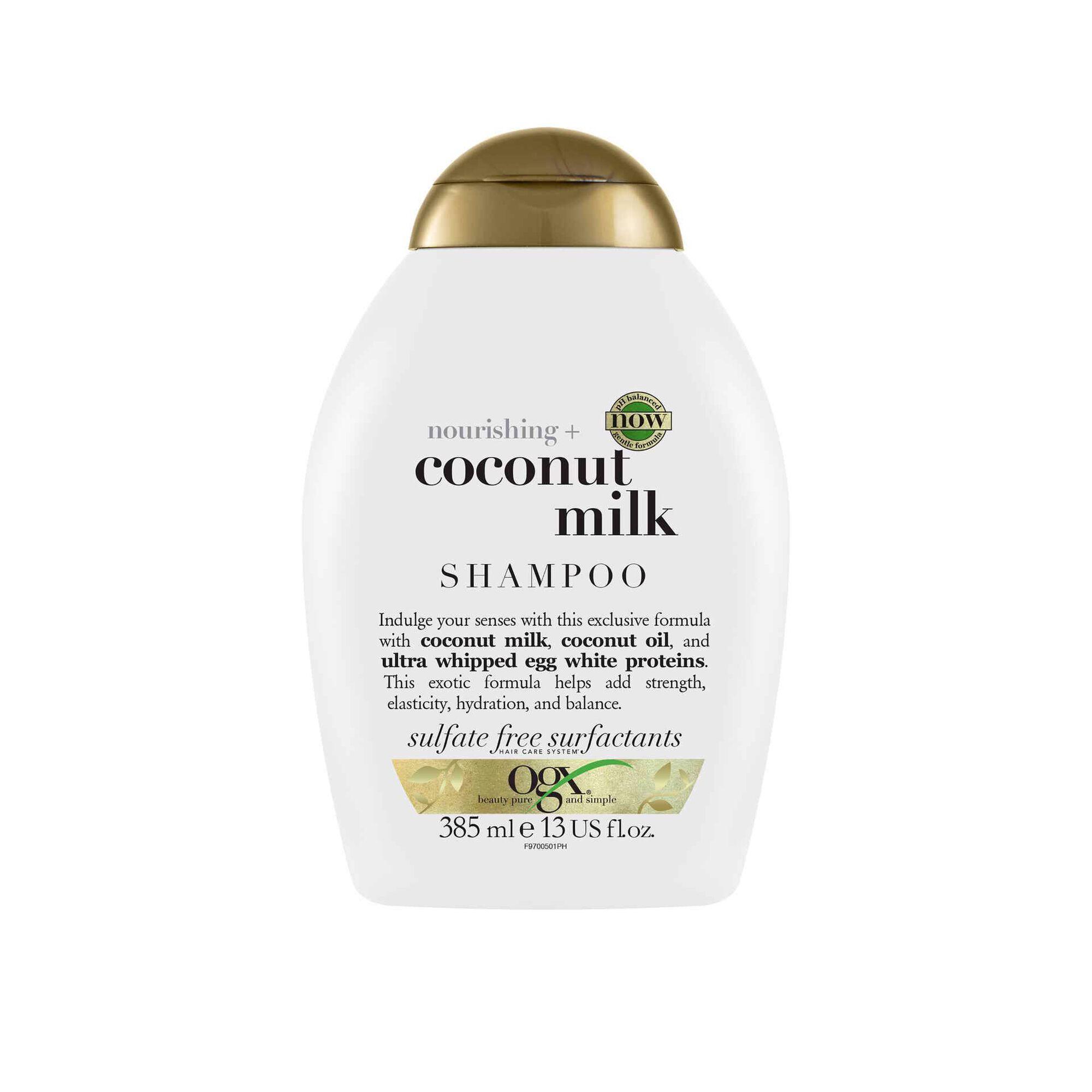 Champô Nutritivo Leite de Coco