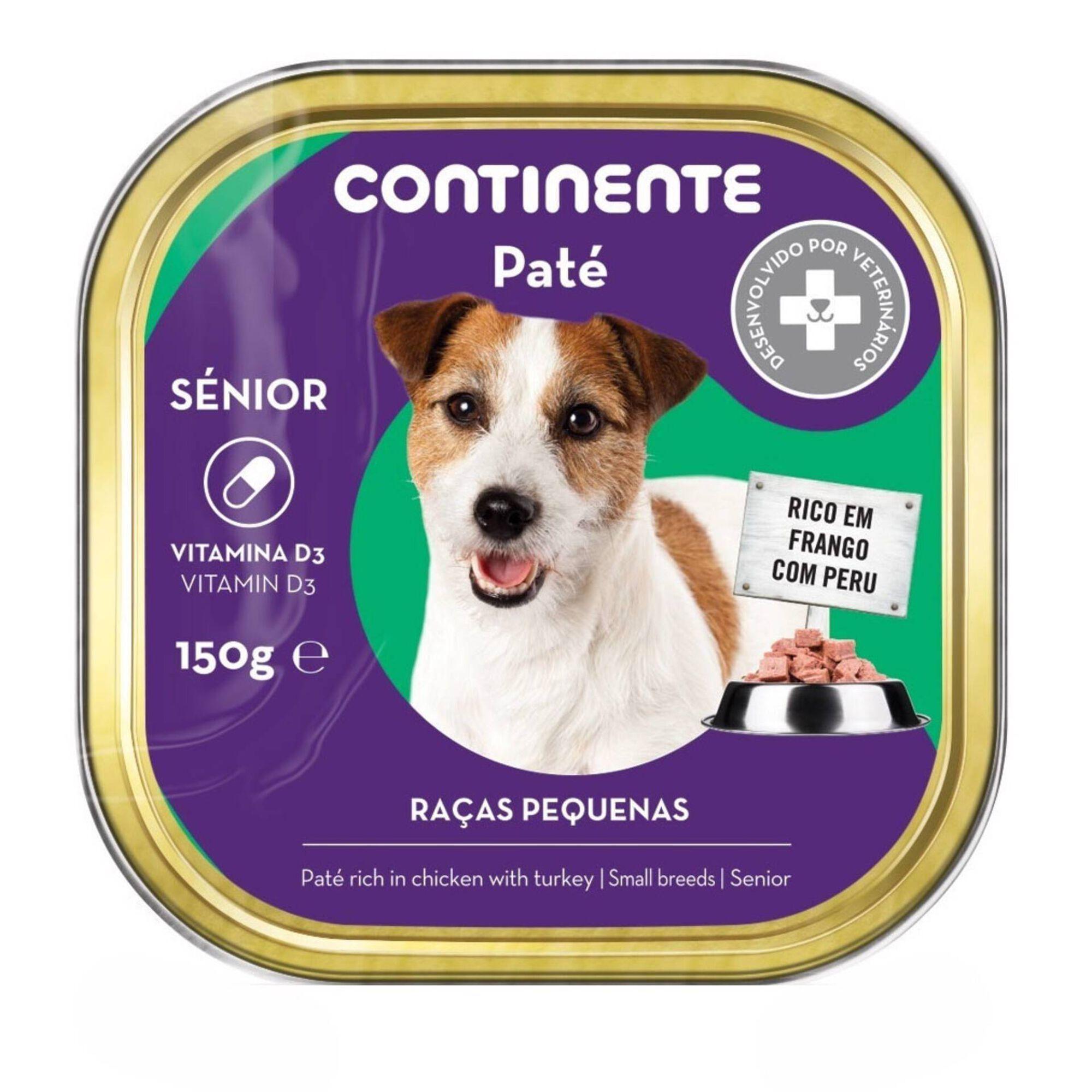 Comida Húmida para Cão Sénior Raças Pequenas Frango e Peru Terrina