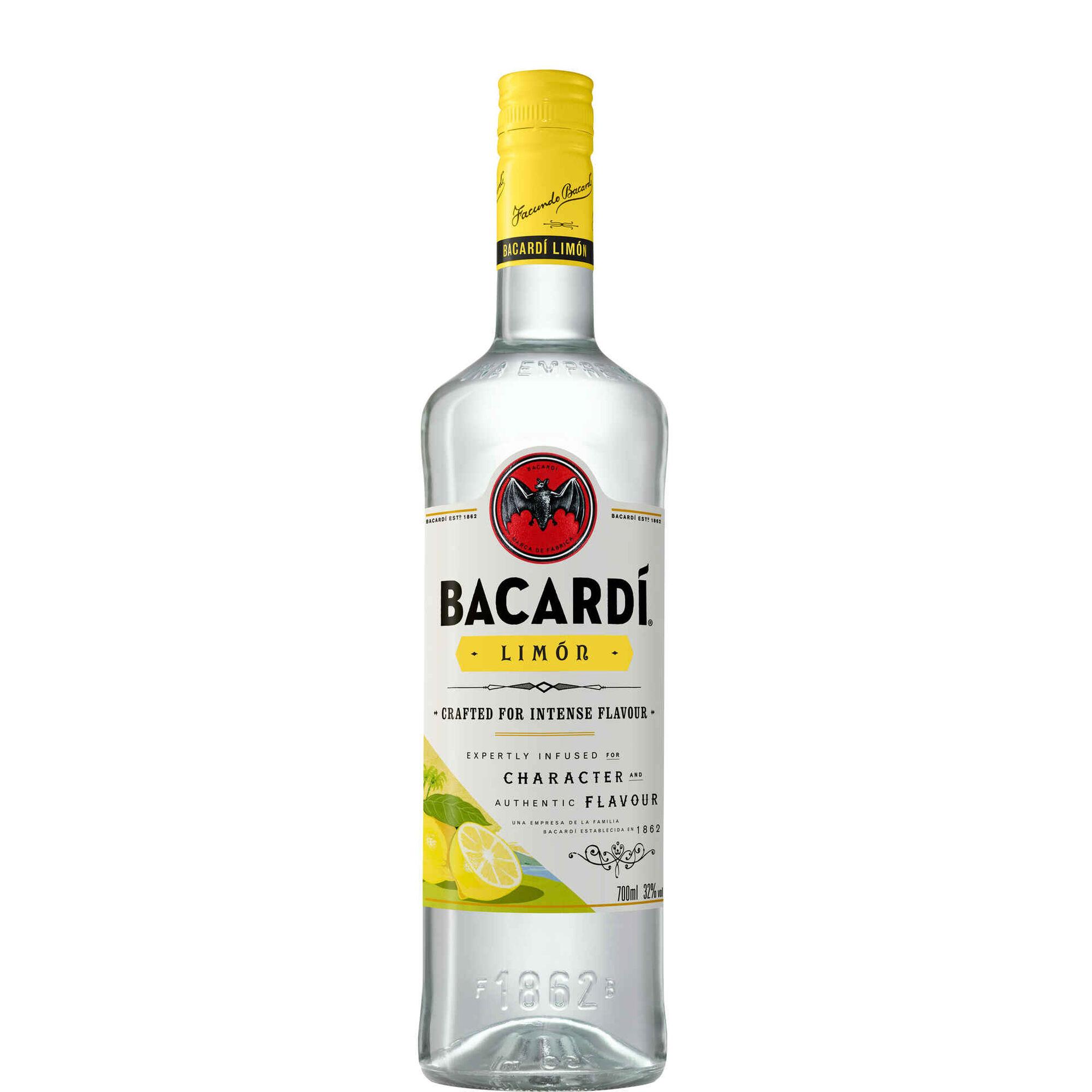 Bebida Espirituosa Bacardi Limão