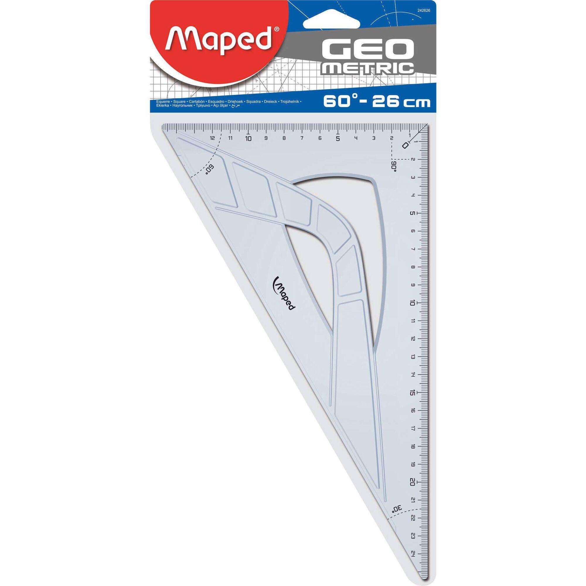 Esquadro Graphic 60º 26cm