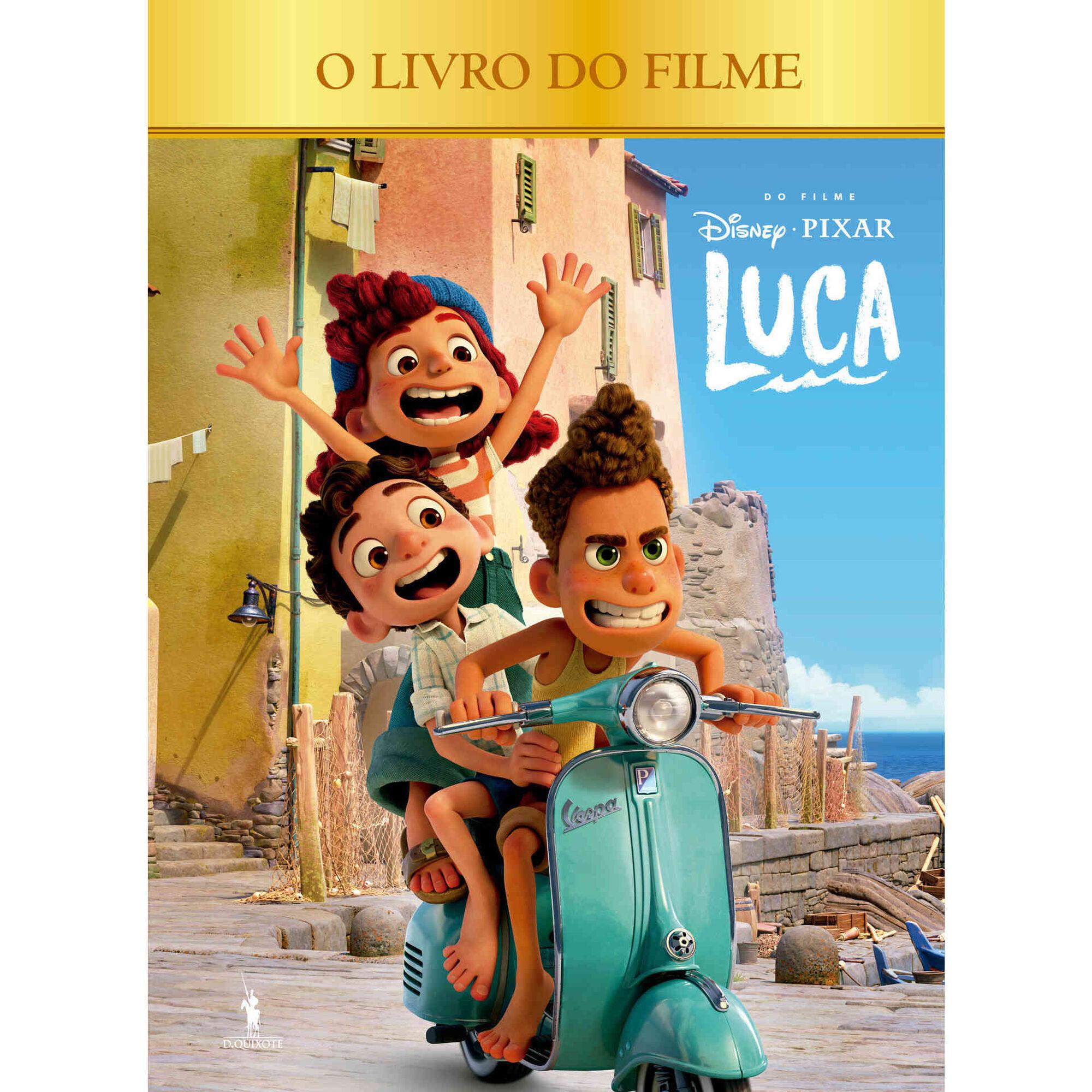 Luca - O Livro do Filme