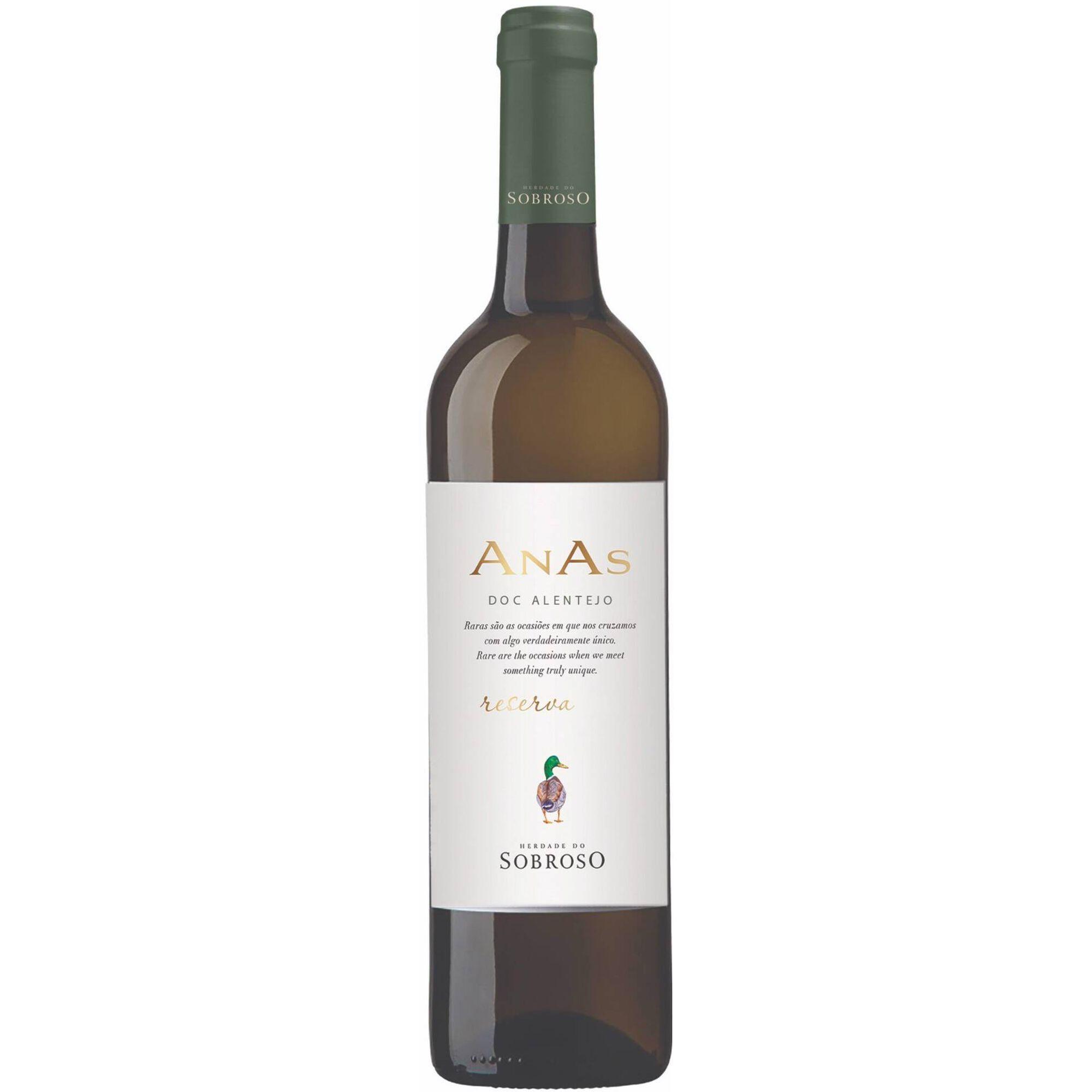 Anas Sobroso Reserva DOC Alentejo Vinho Branco