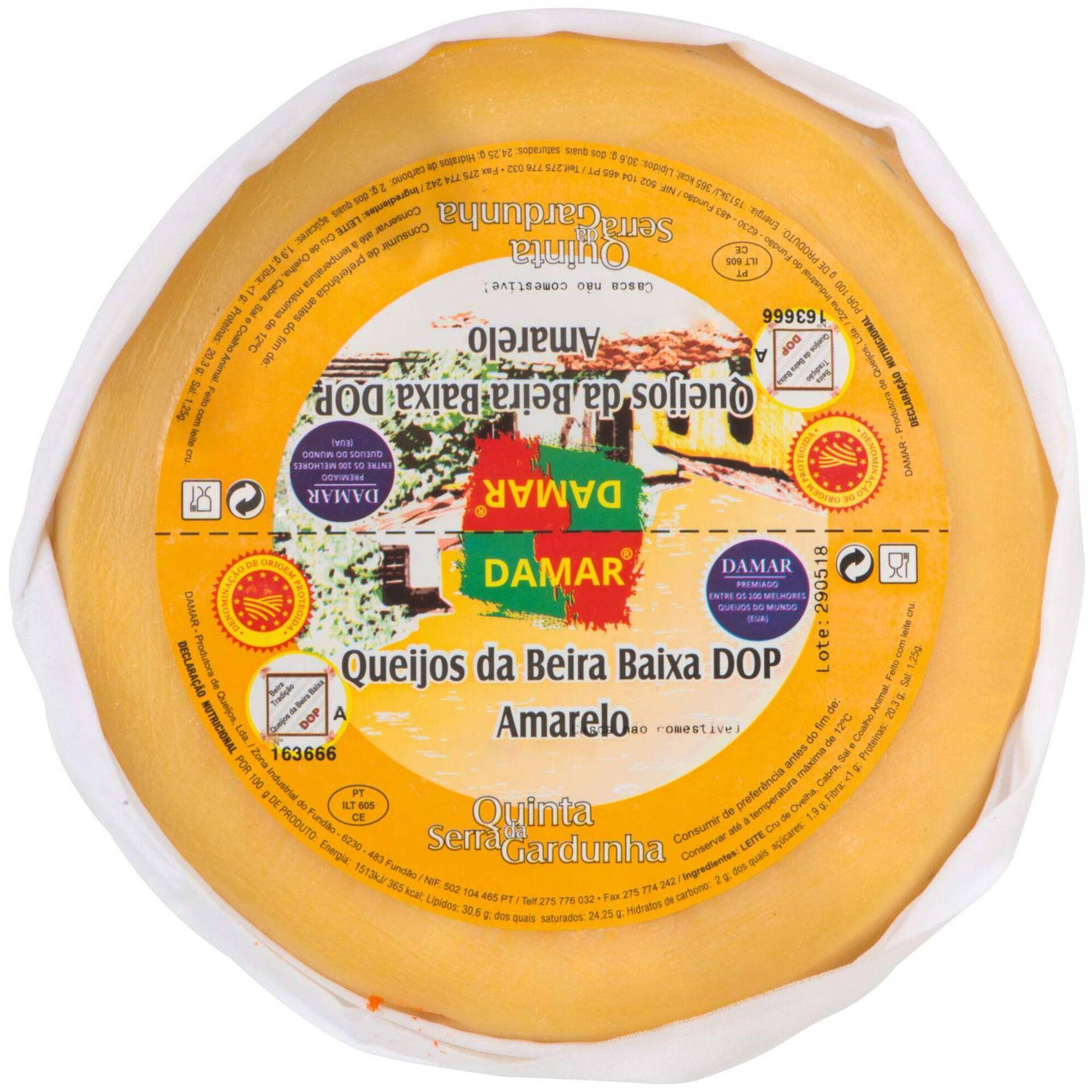 Queijo Amarela Beira Baixa