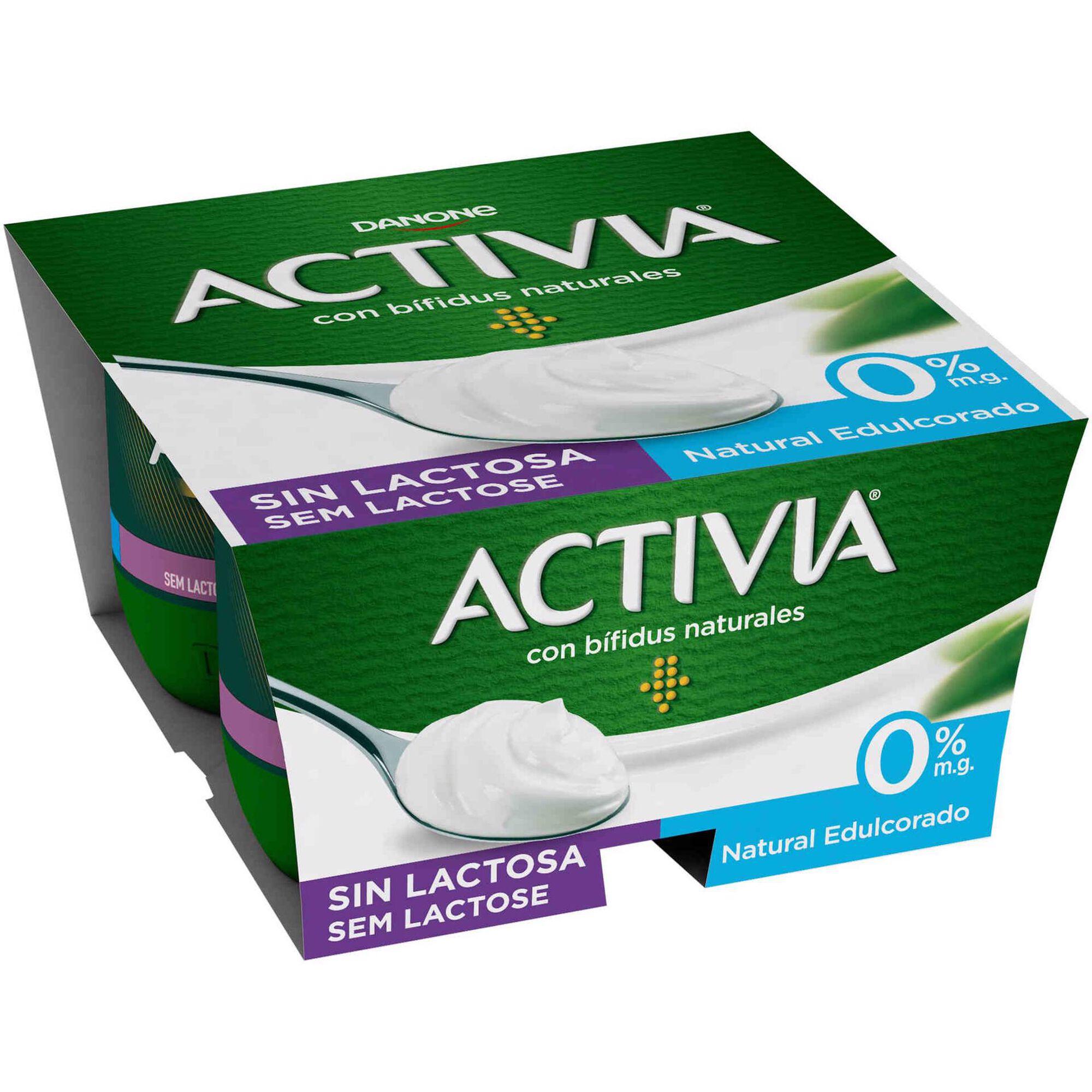 Iogurte Bifidus Sólido Natural Activia sem Lactose