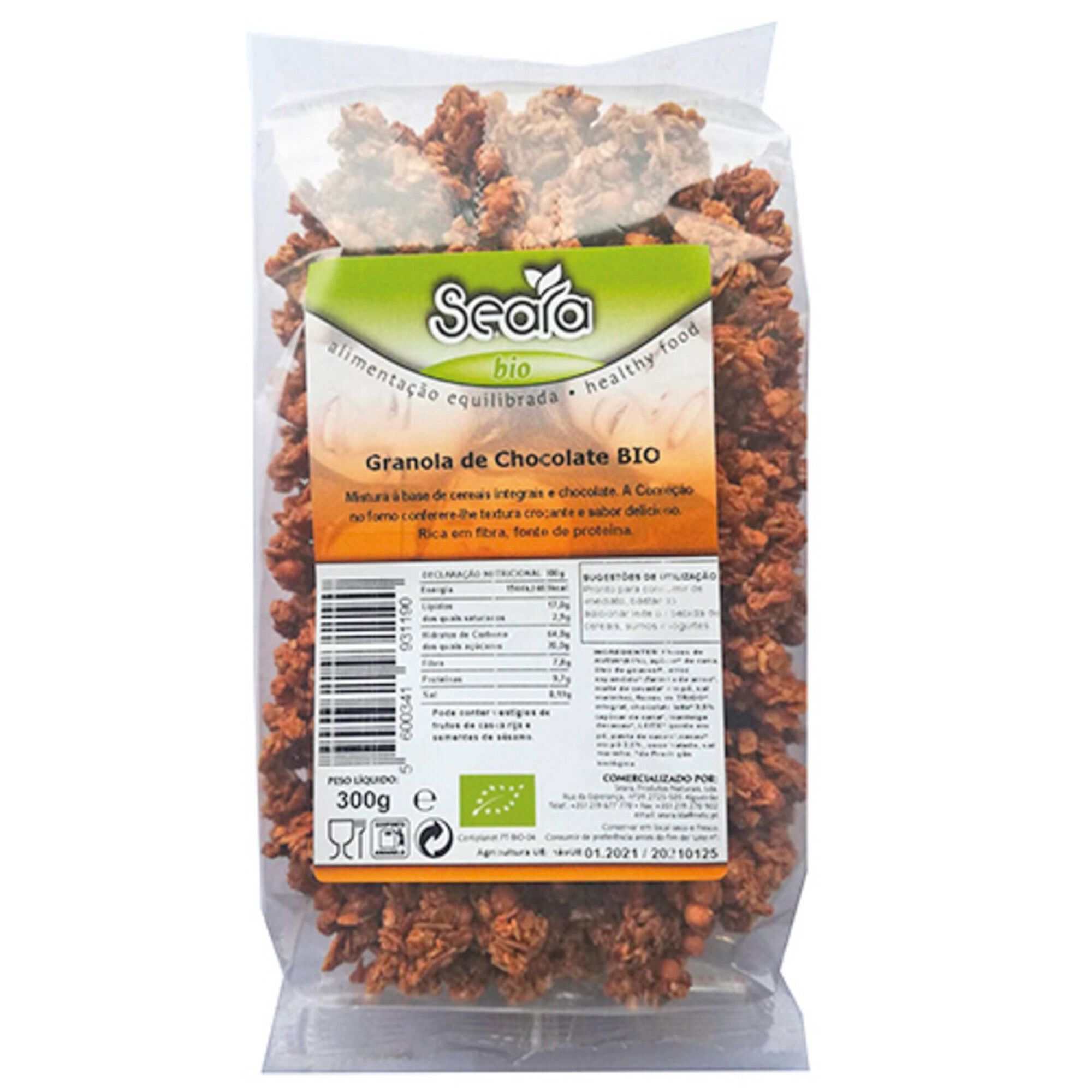Granola Chocolate Biológica