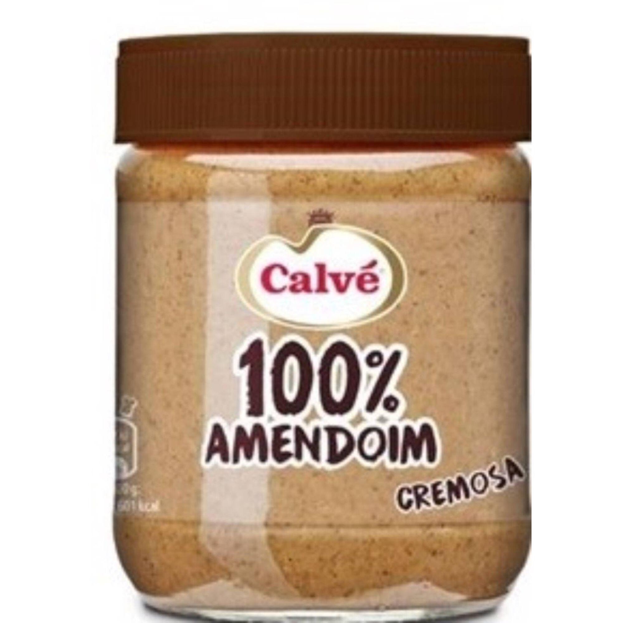 Manteiga de Amendoim 100% Cremosa