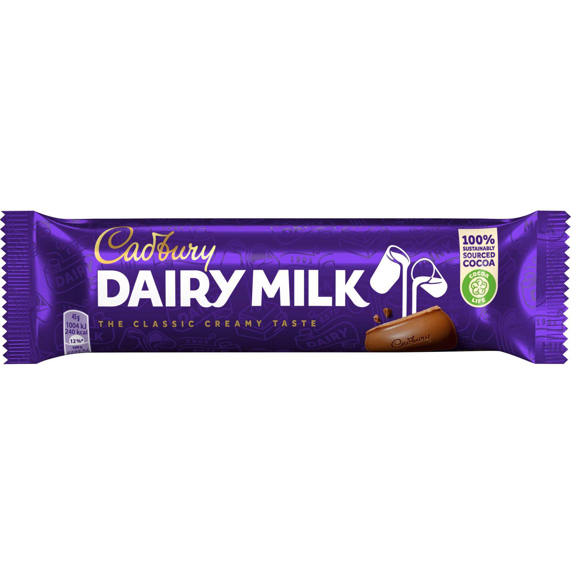 Snack de Chocolate de Leite Dairy Milk