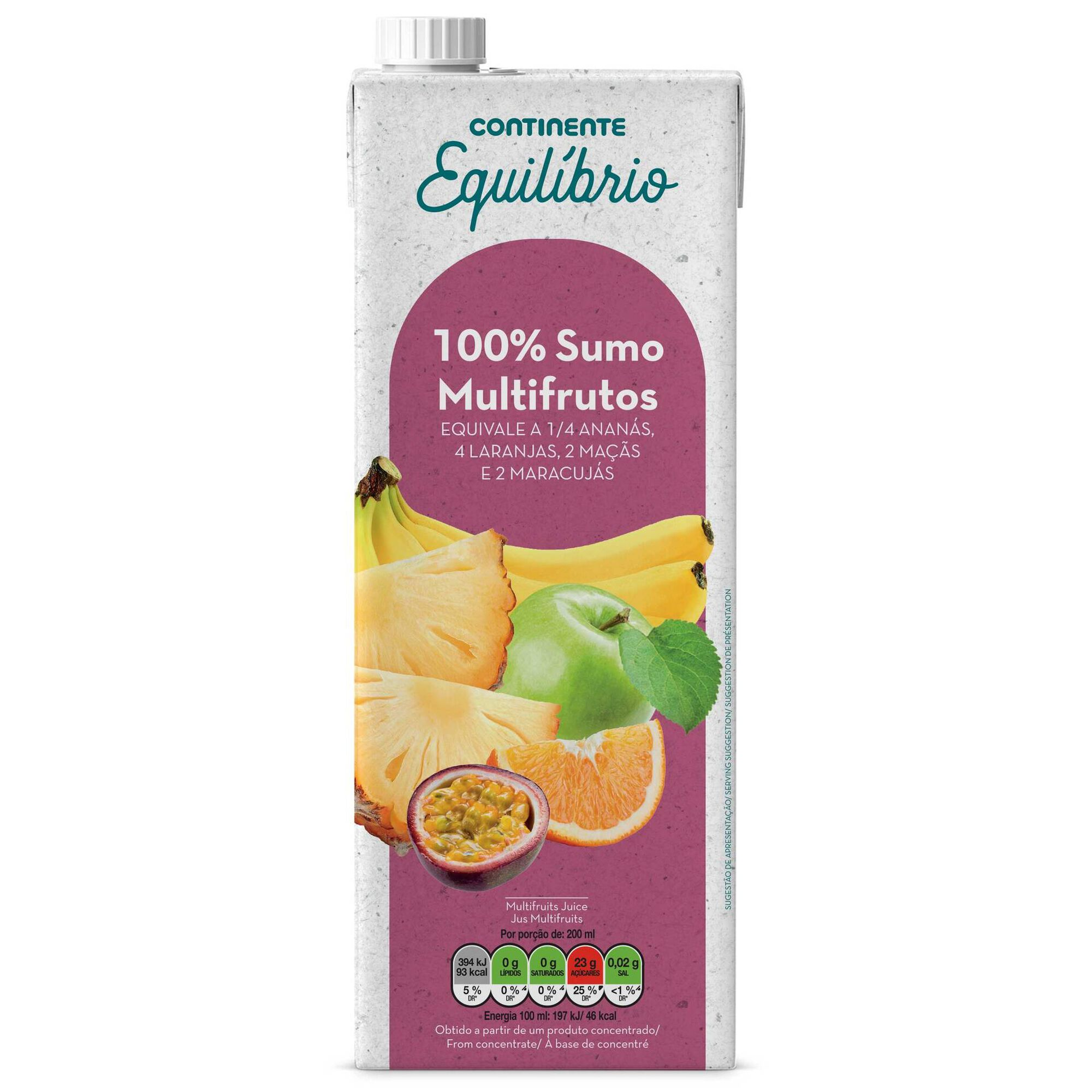 Sumo 100% Multifrutos