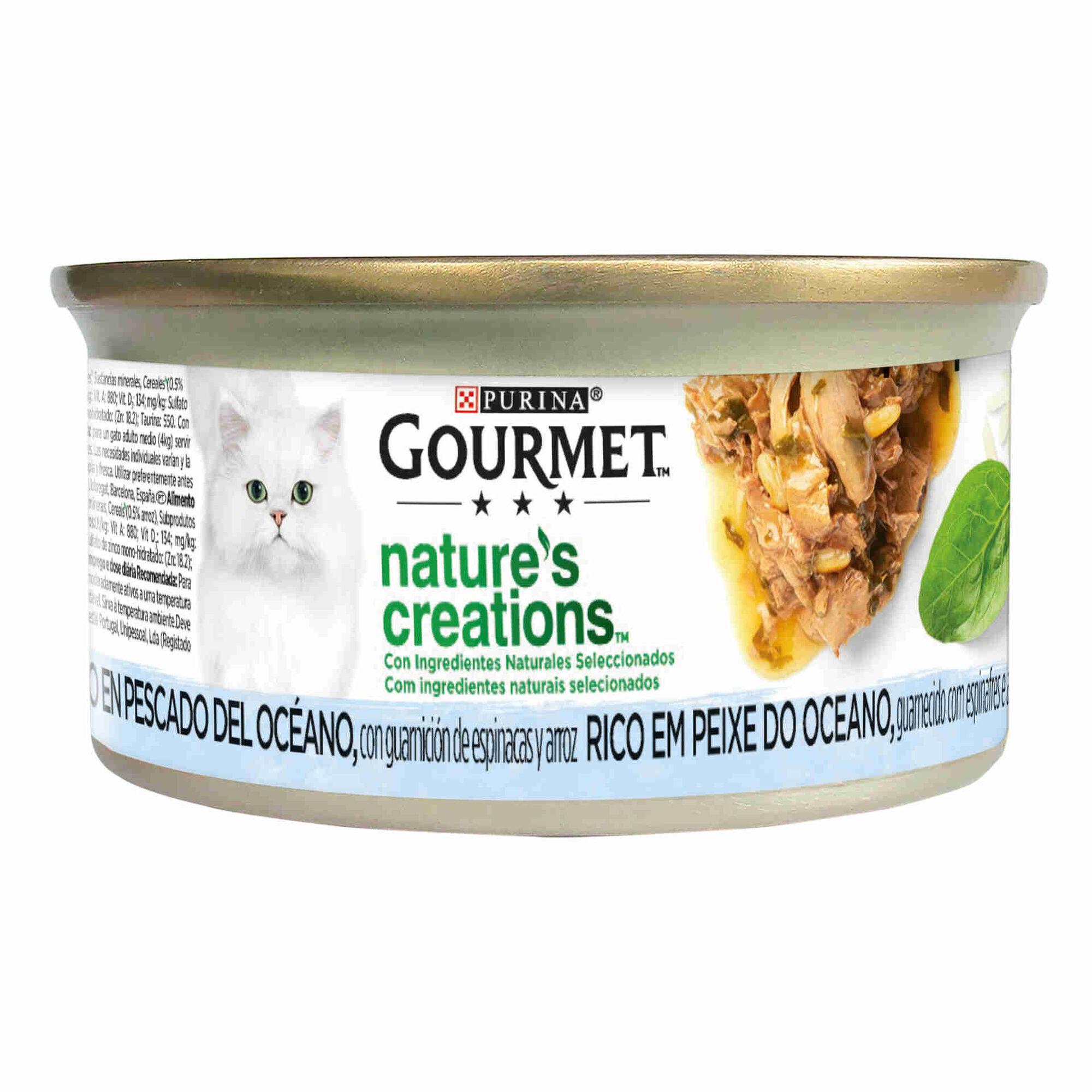 Comida Húmida para Gato Adulto Peixe Lata