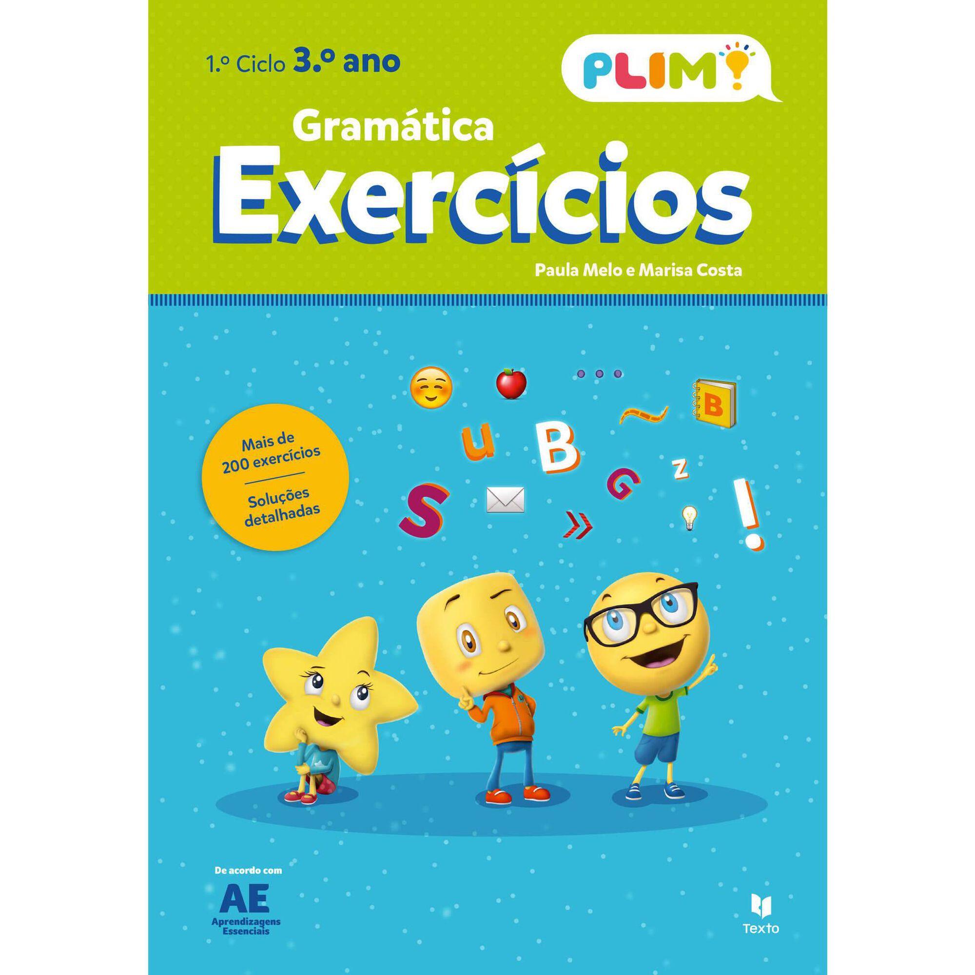 Plim! Exercícios de Gramática - 3º Ano