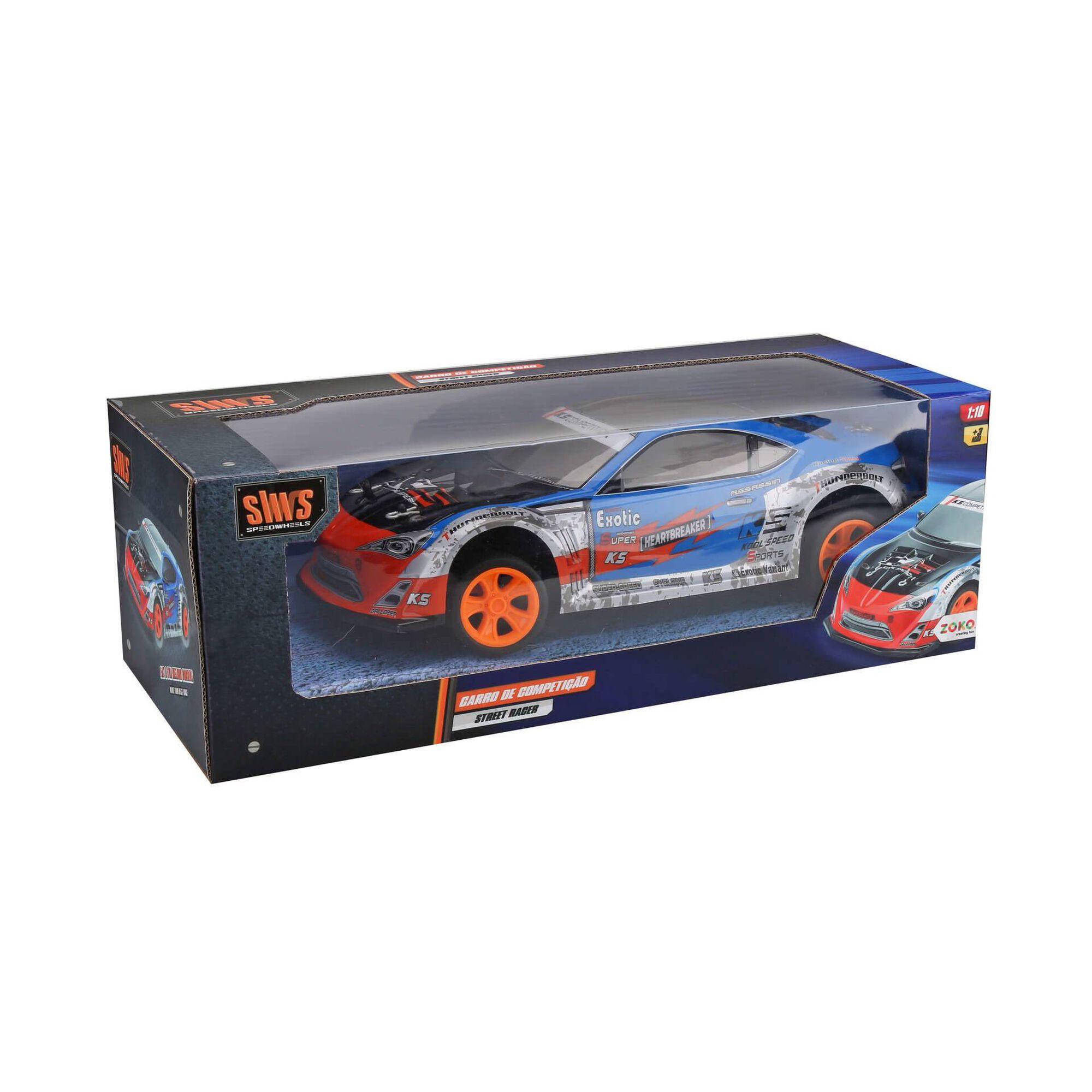 Rádio Controlo Streetfire Racers 1:10