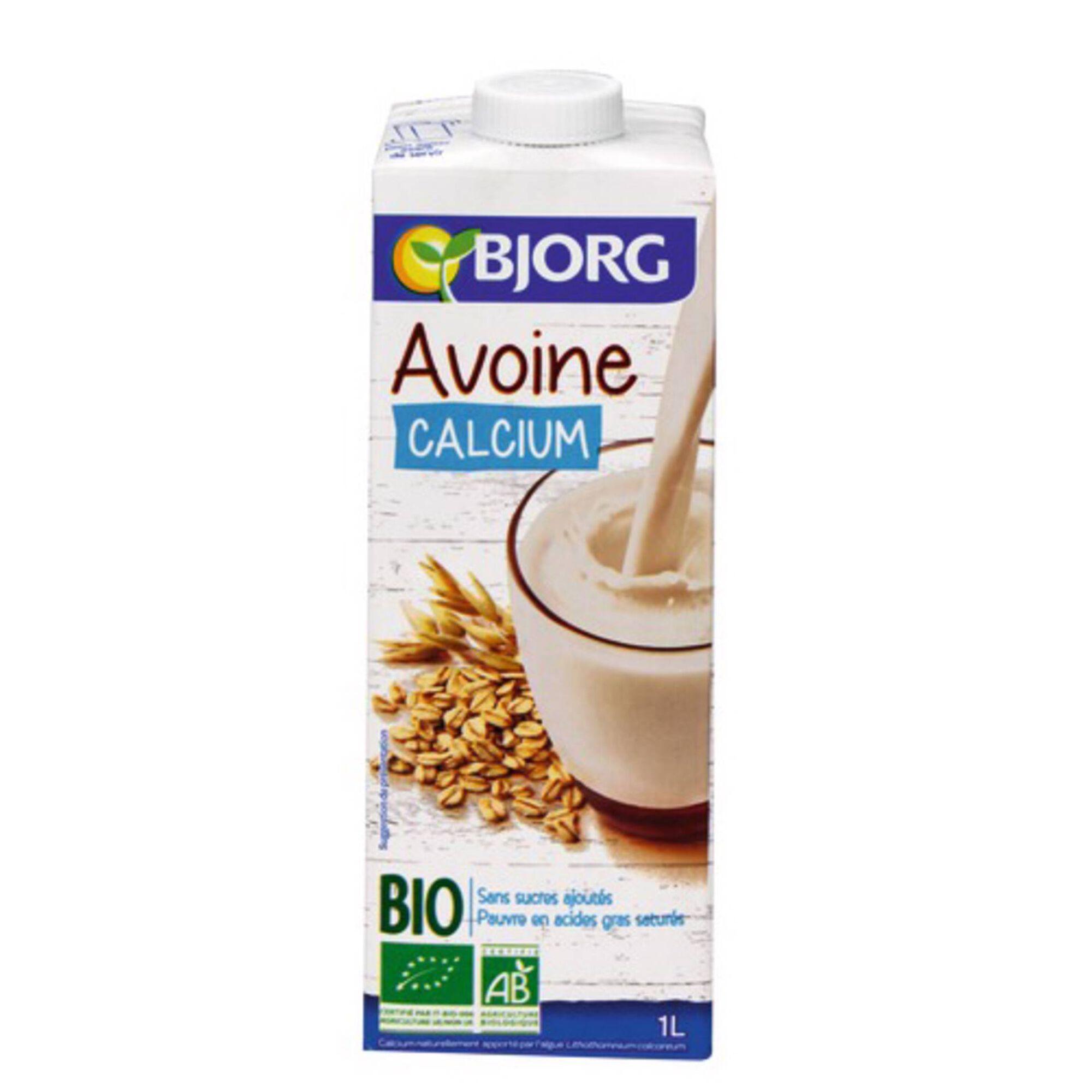 Bebida Vegetal de Aveia e Cálcio Biológica