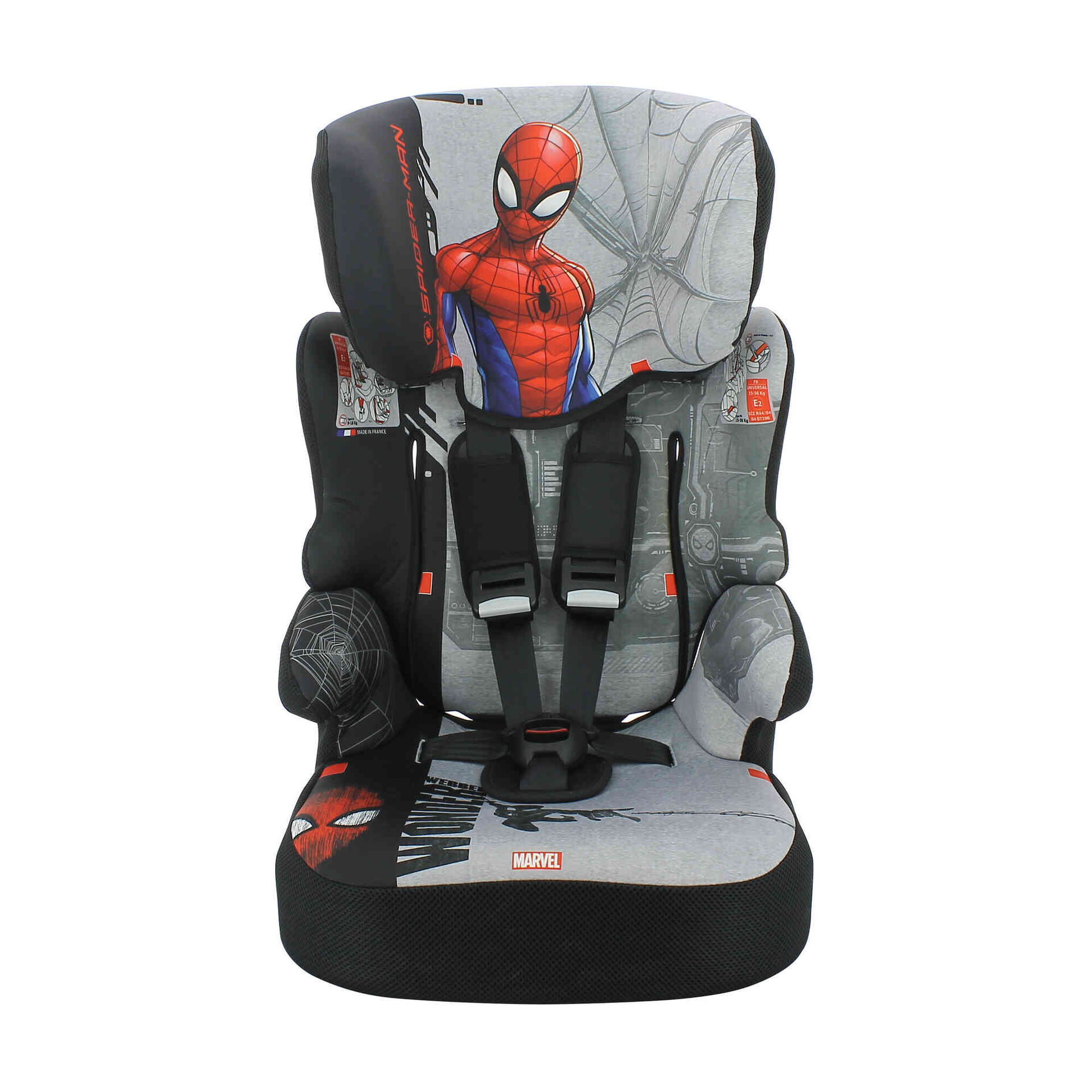 Cadeira Auto Grupo 1/2/3 Spiderman