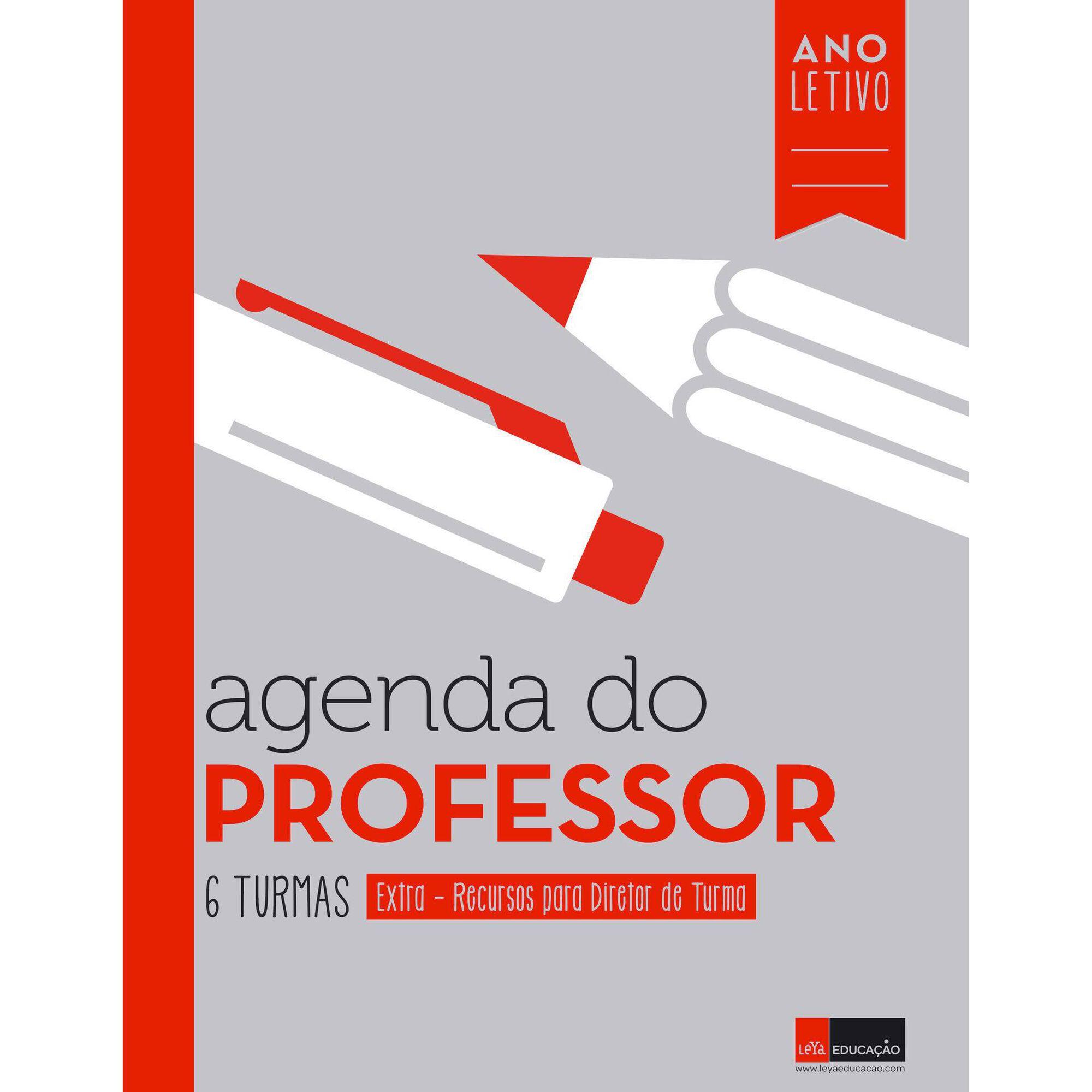 Agenda do Professor - 6 Turmas