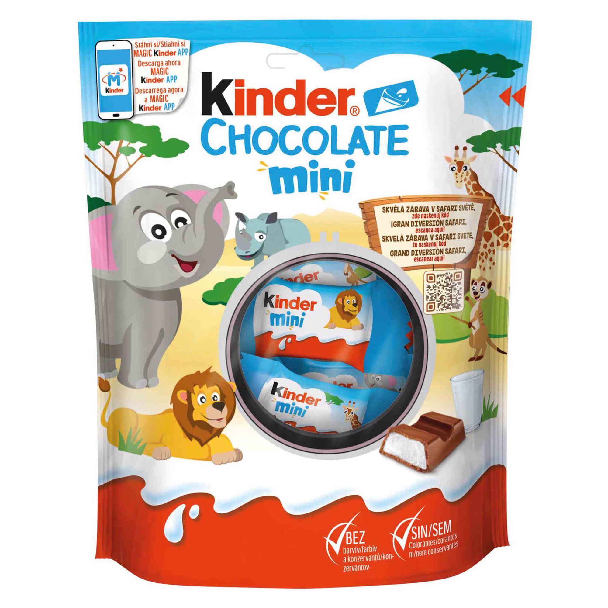Snack de Chocolate de Leite Mini