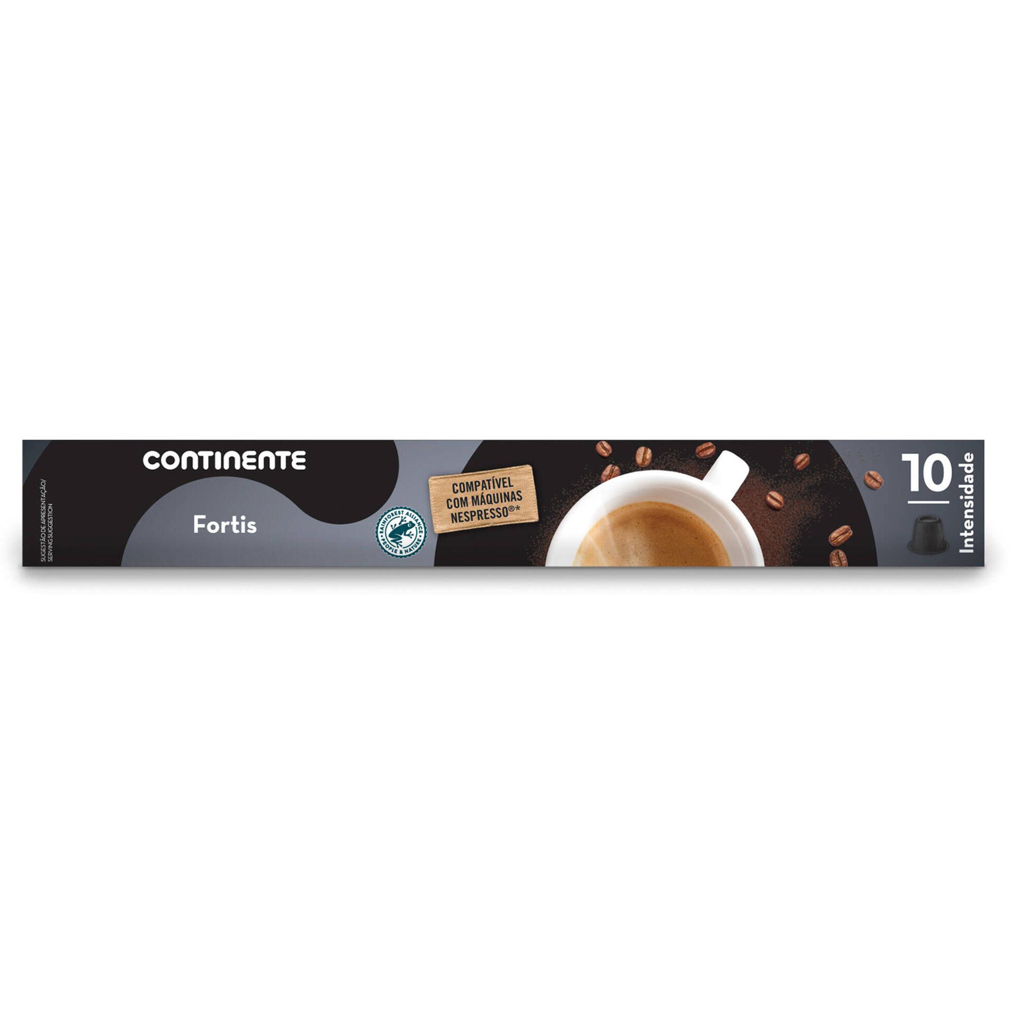Cápsulas de Café Fortis Compatível com Nespresso Int 10