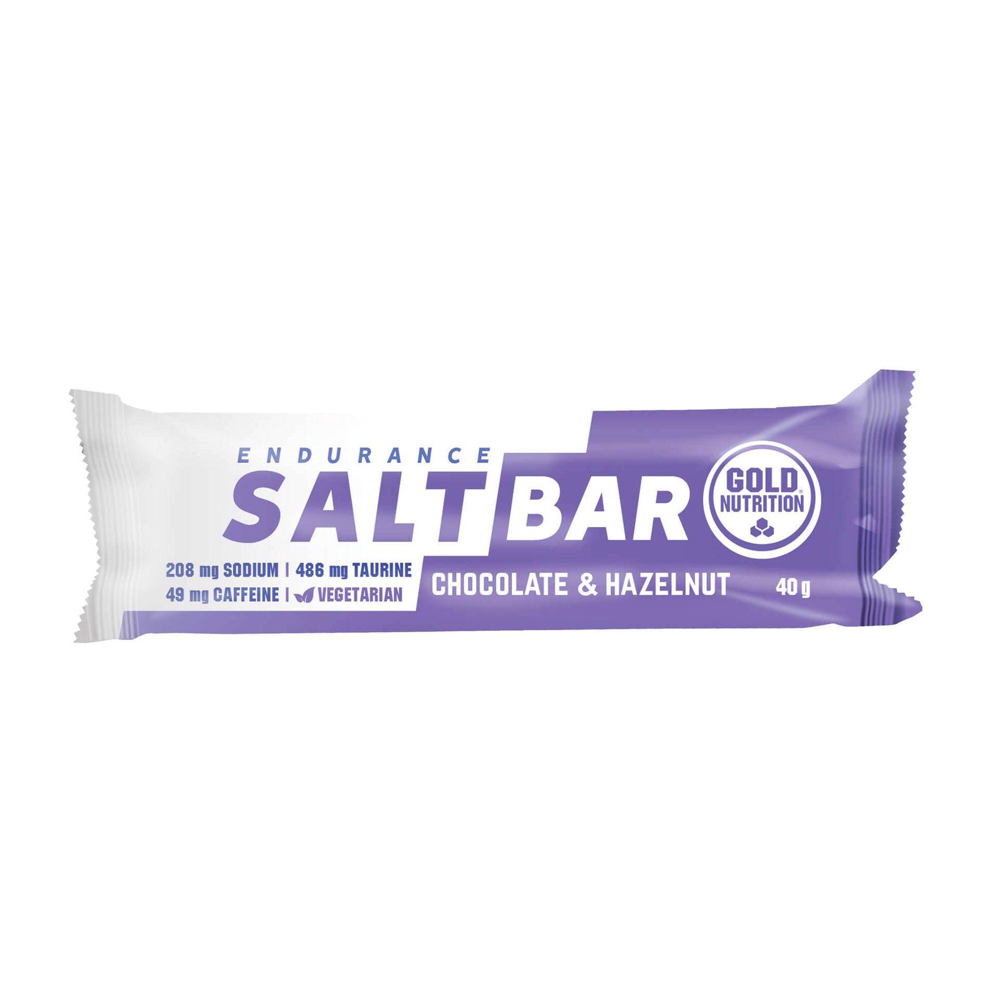 Barra Endurance Salt Bar Chocolate e Avelã