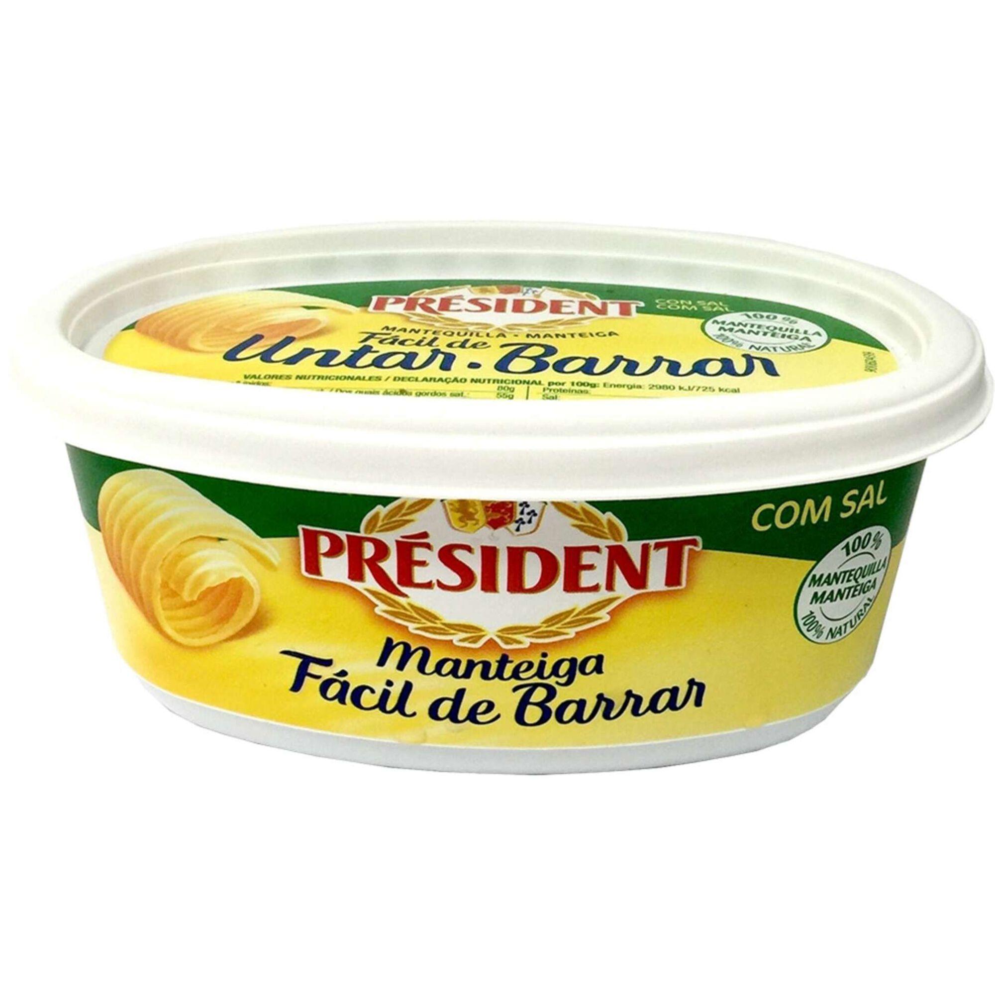 Manteiga Meio Sal Fácil Barrar