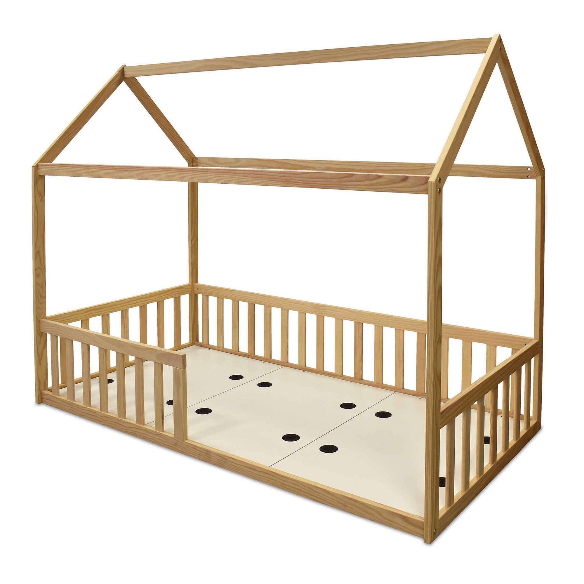 Cama Tenda Madeira Montessori