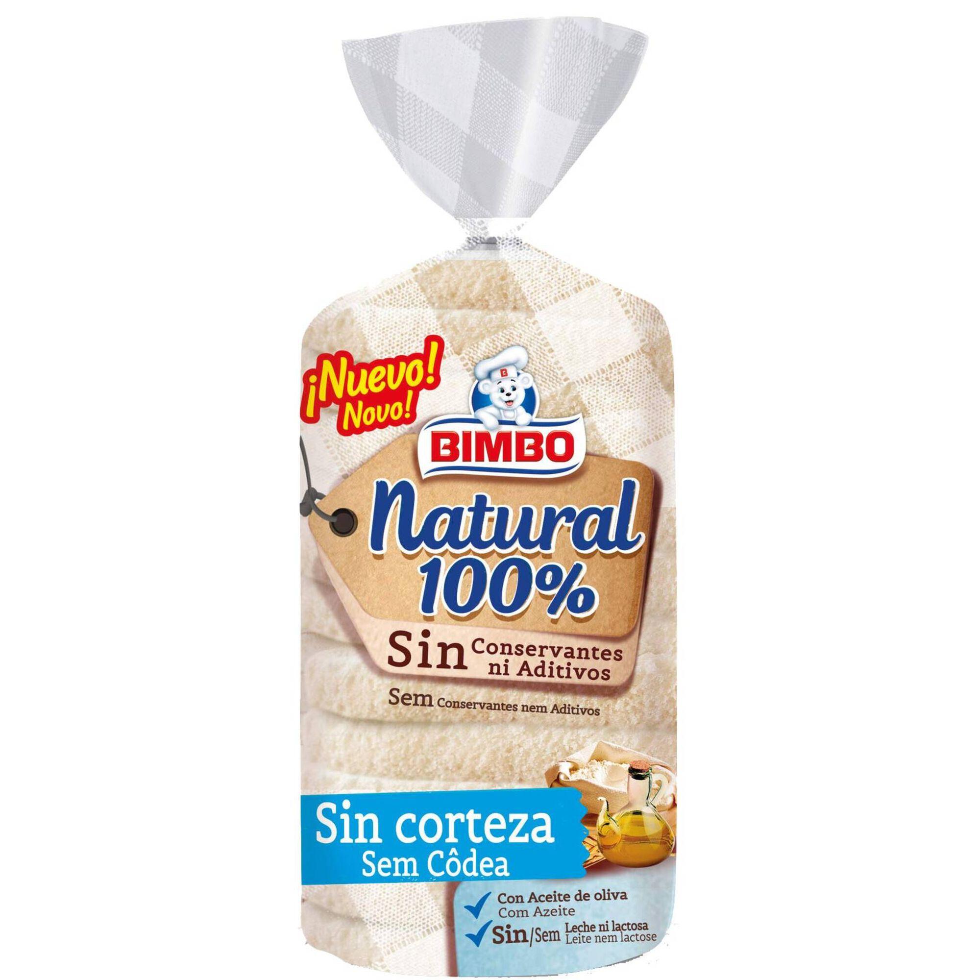 Pão de Forma 100% Natural sem côdea