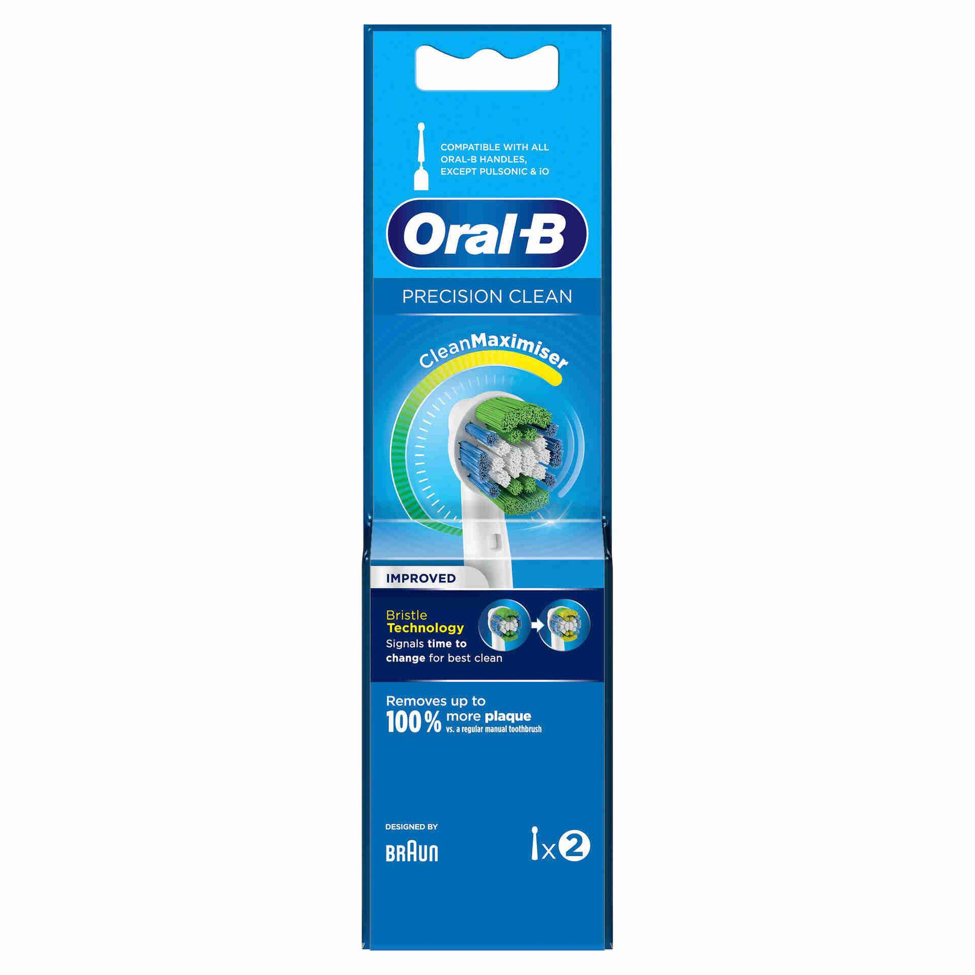 Recarga Escova de Dentes Elétrica Precision Clean