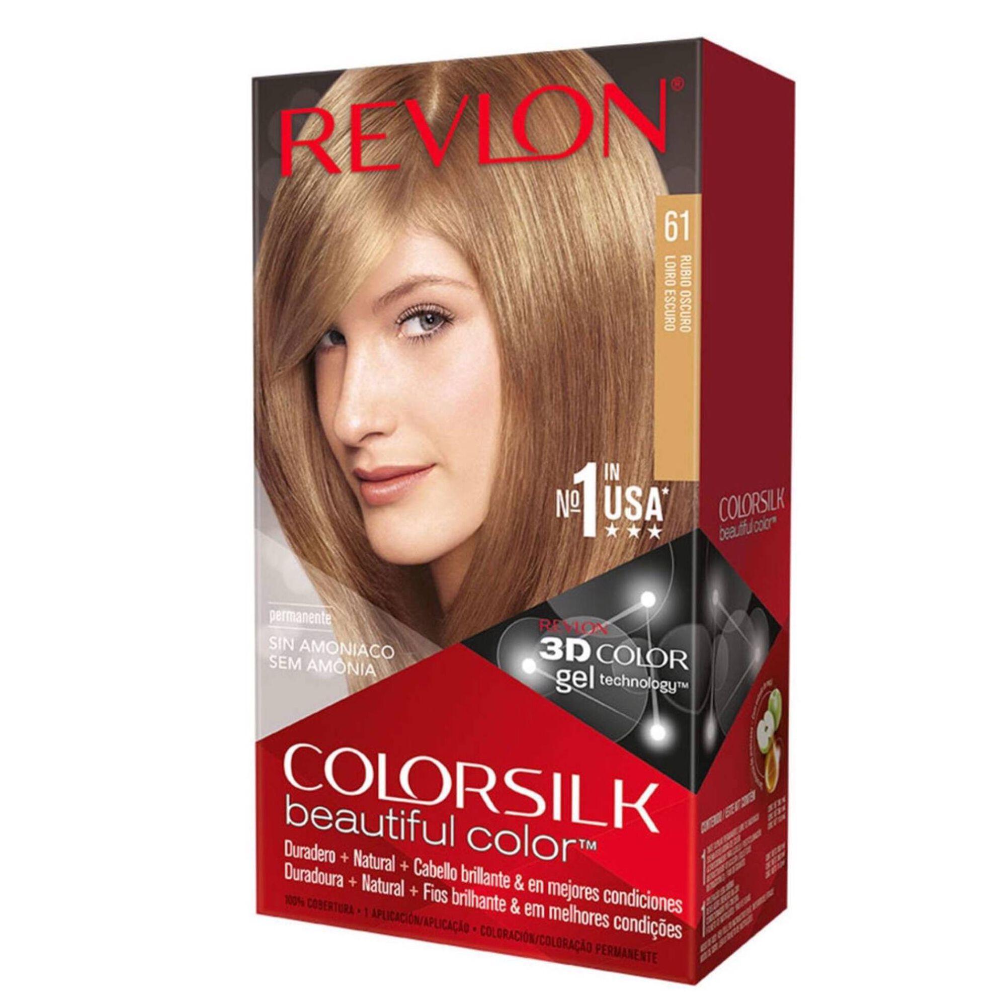 Coloração Permanente Colorsilk Louro Escuro 61