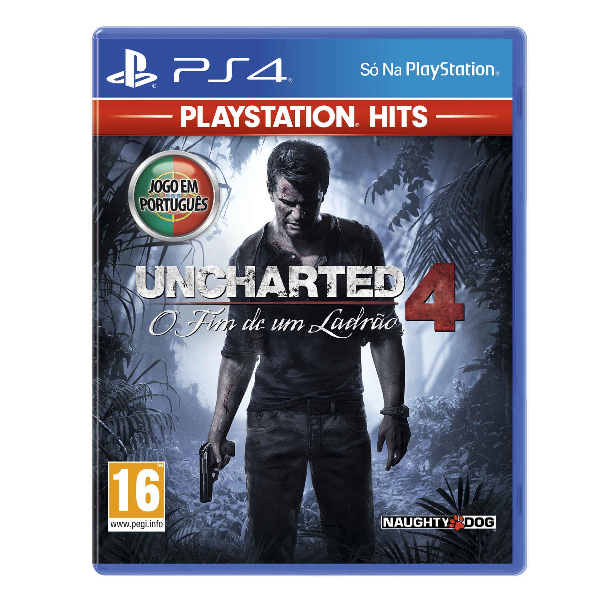 Jogo Sony PS4 Uncharted 4: O Fim de um Ladrão