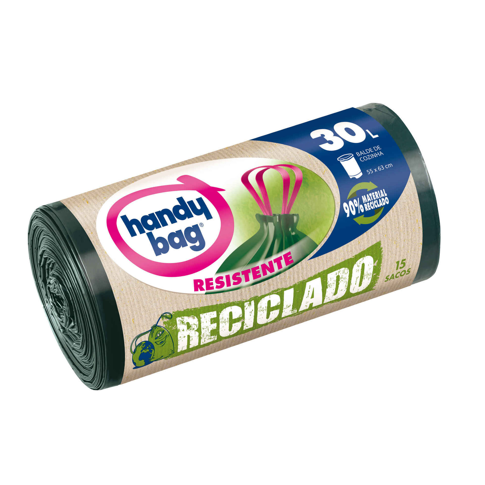 Sacos Lixo Reciclado 30 lt