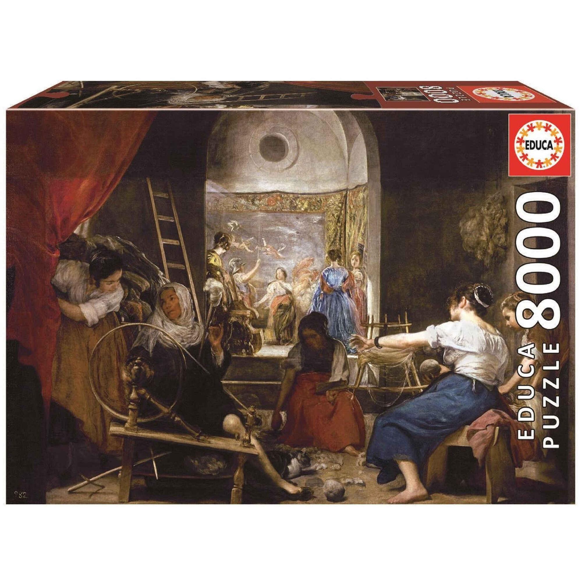 Puzzle As Fiandeiras de Velázquez 8000 Peças