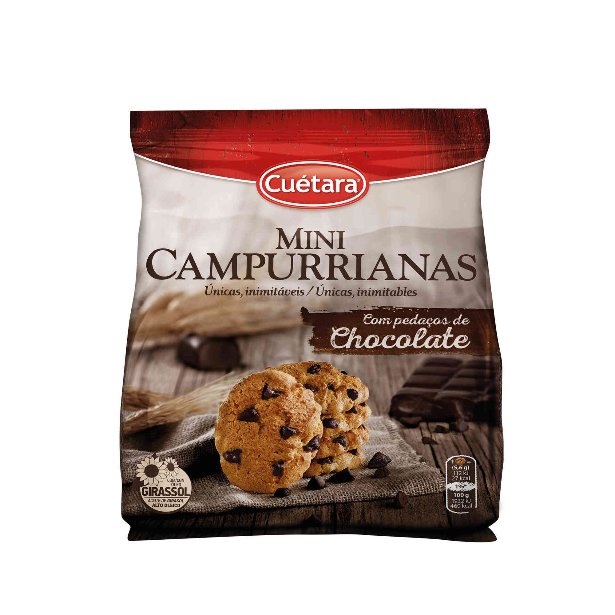 Cookies Mini Campurrianas de Chocolate