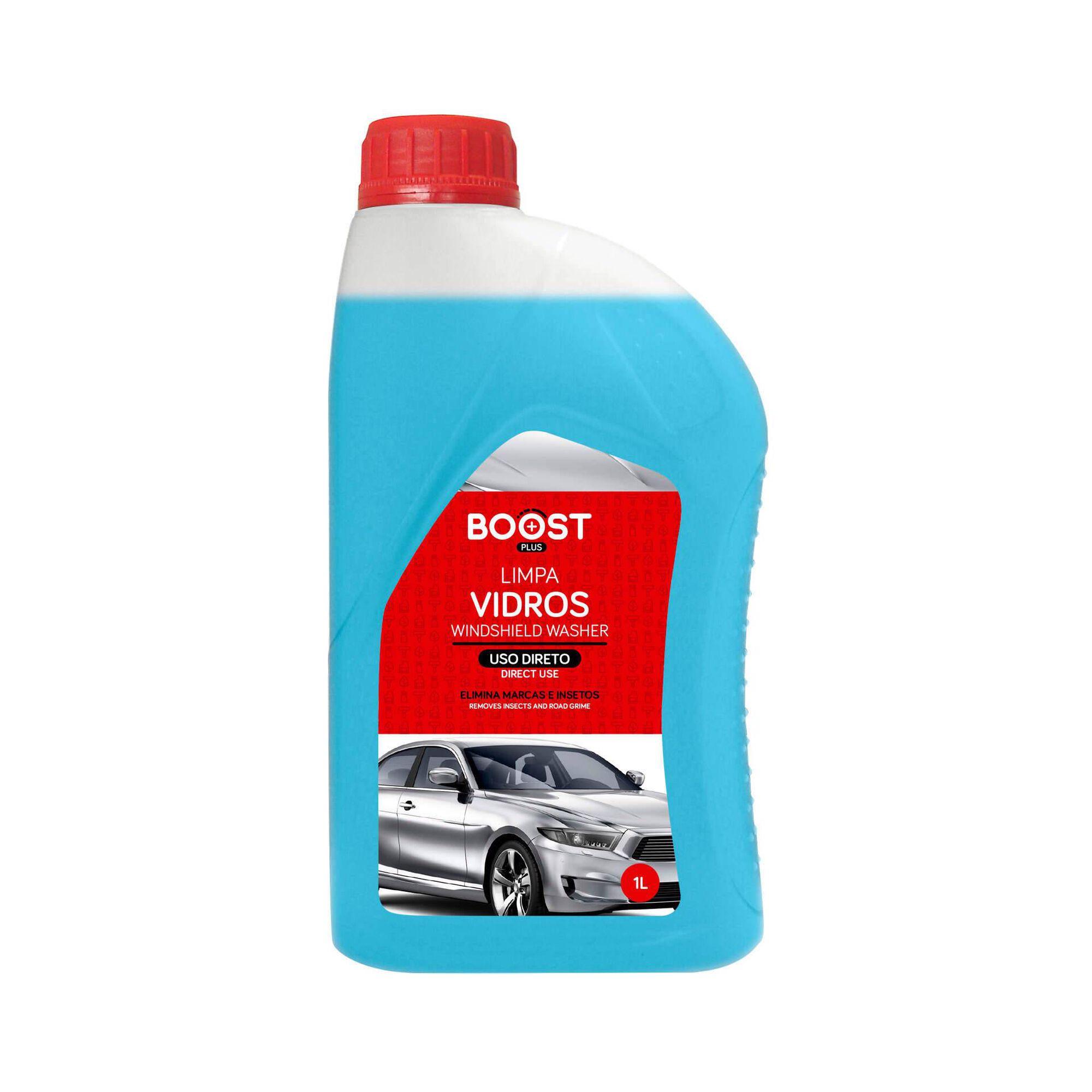 Limpa Vidros Auto Azul 1L