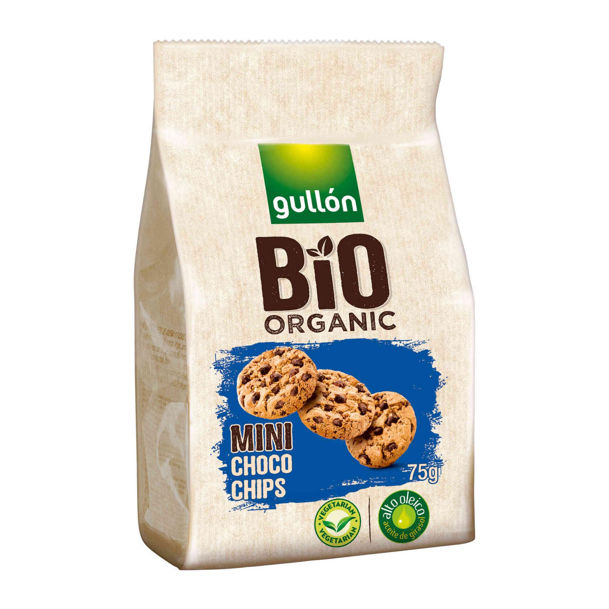 Bolachas Mini Choco Chips Biológicas