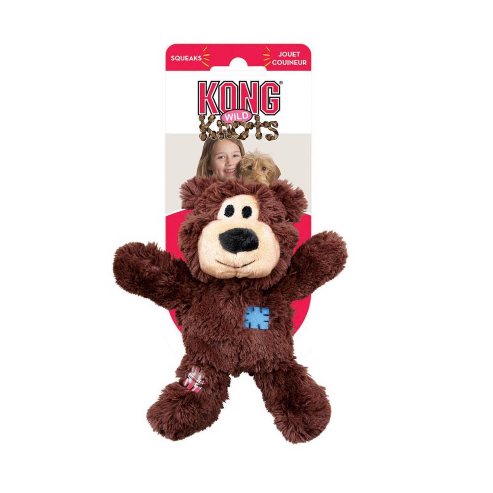 Brinquedo para Cão Wildknots Urso M e L