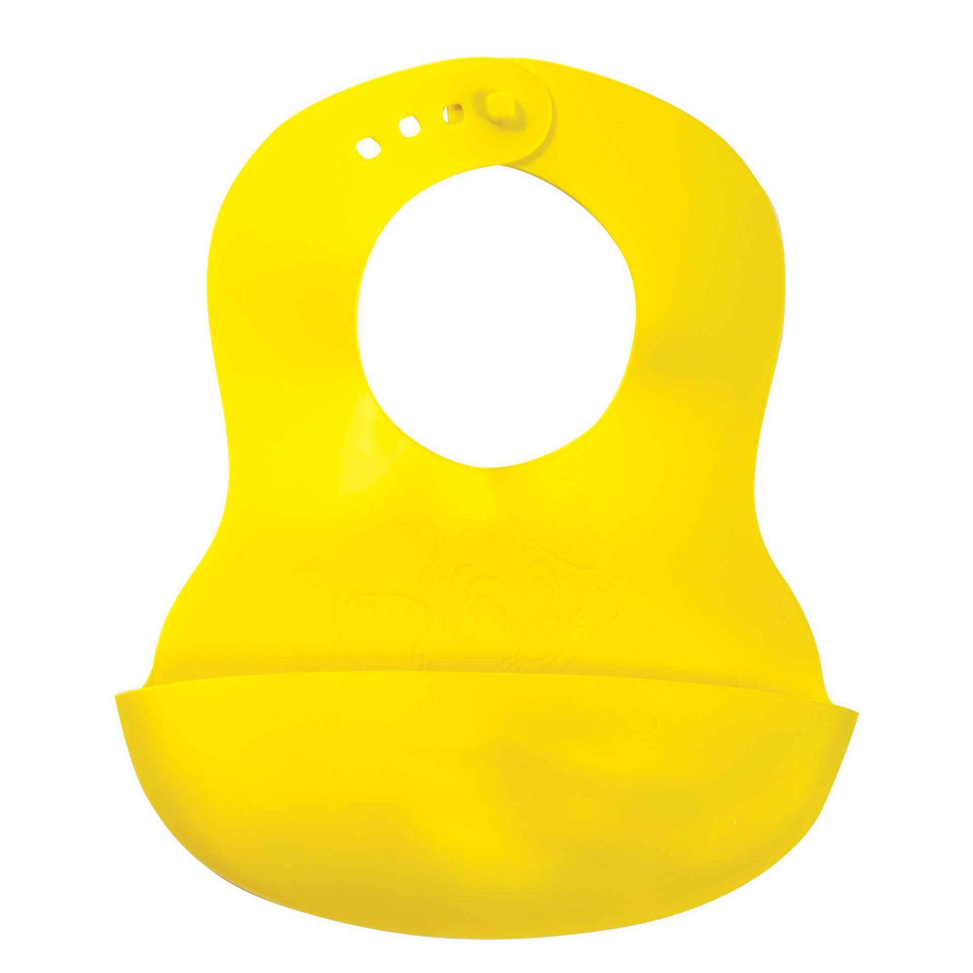 Babete Maleável Amarelo