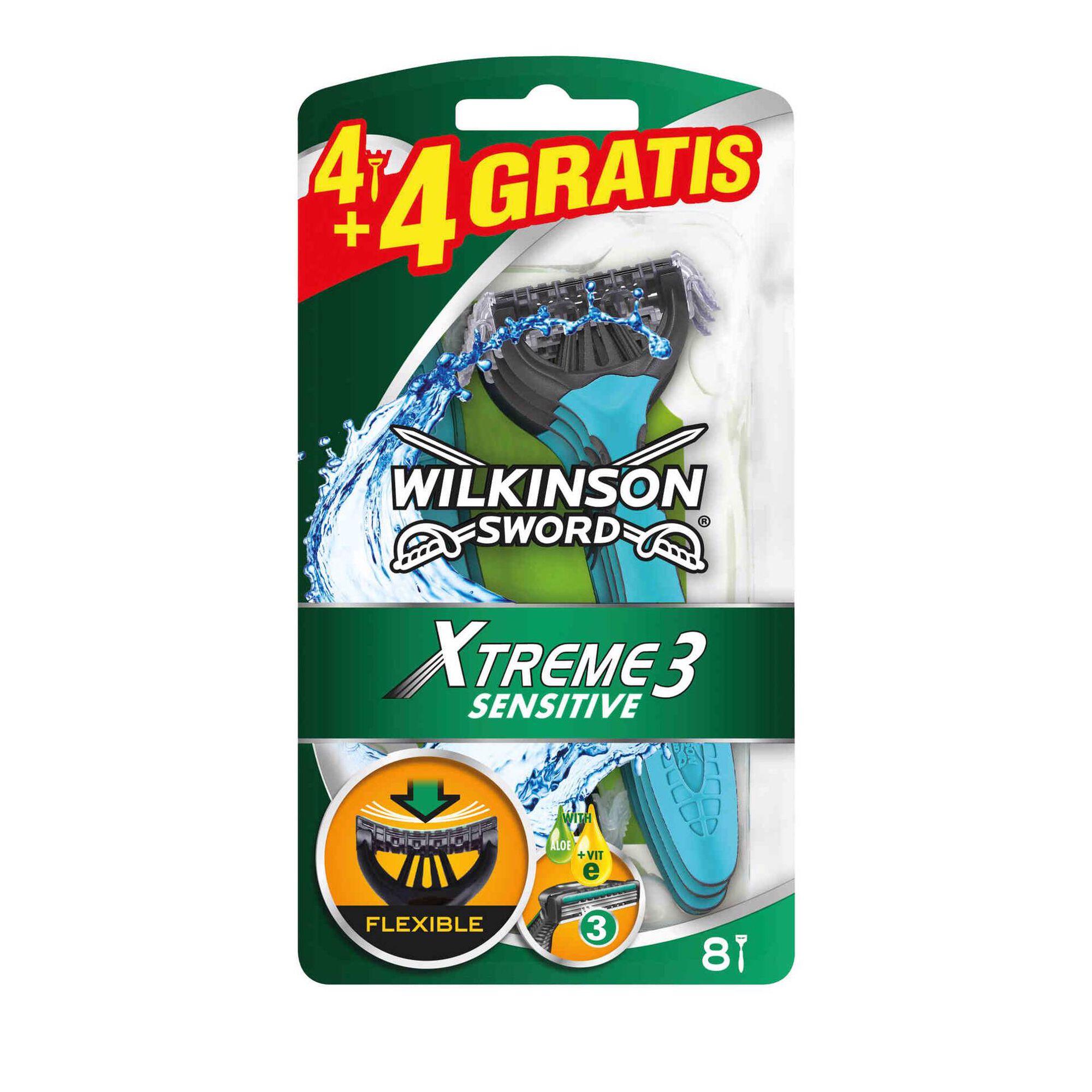 Lâminas Descartáveis Xtreme 3 Sensitive Oscilante