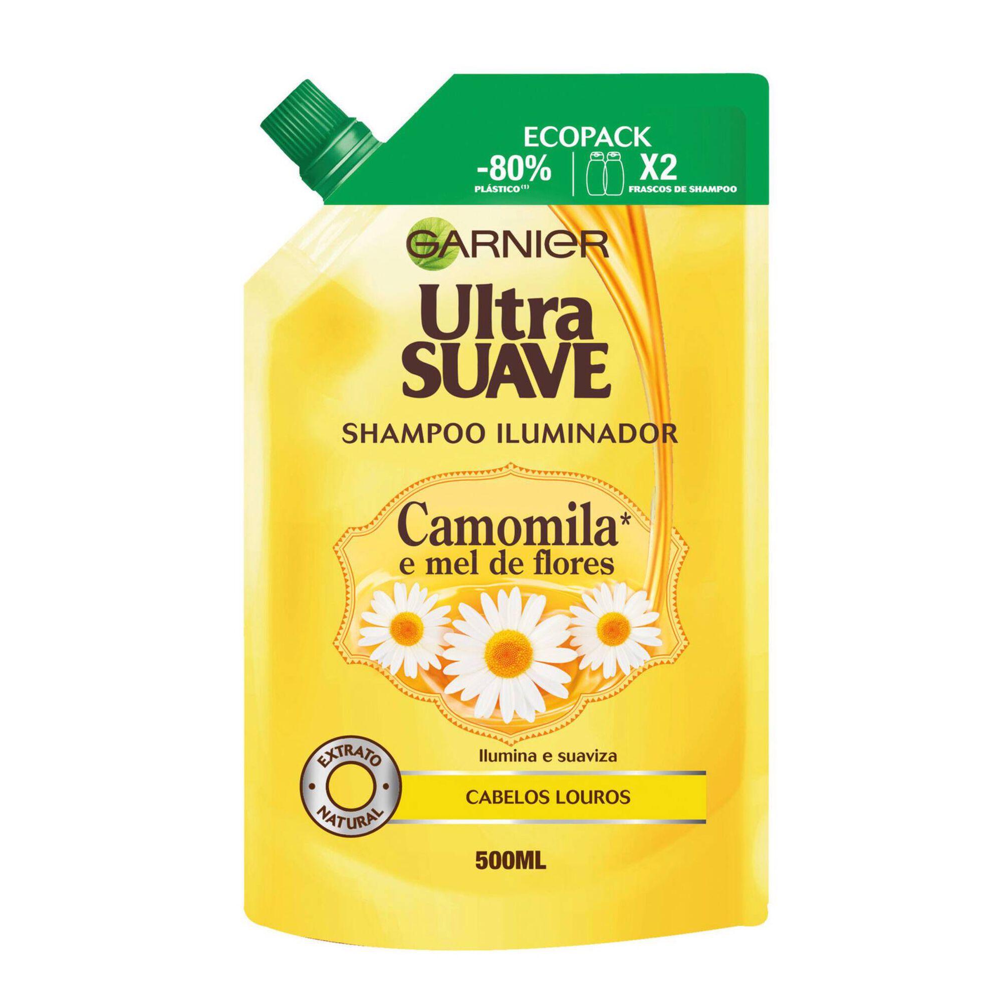 Champô Ultra Suave Camomila Ecopack