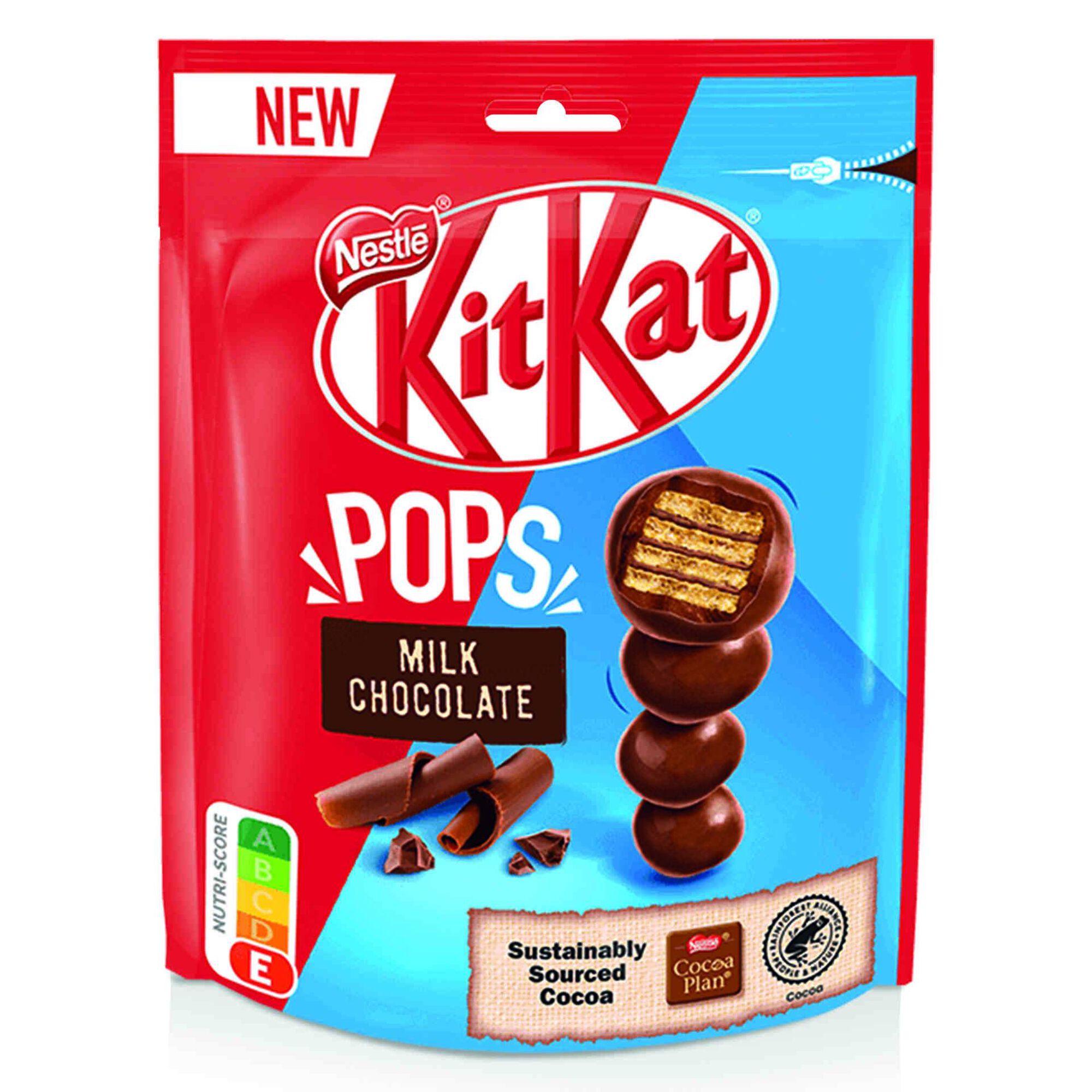 Snack de Chocolate KitKat® Pops Chocolate de Leite
