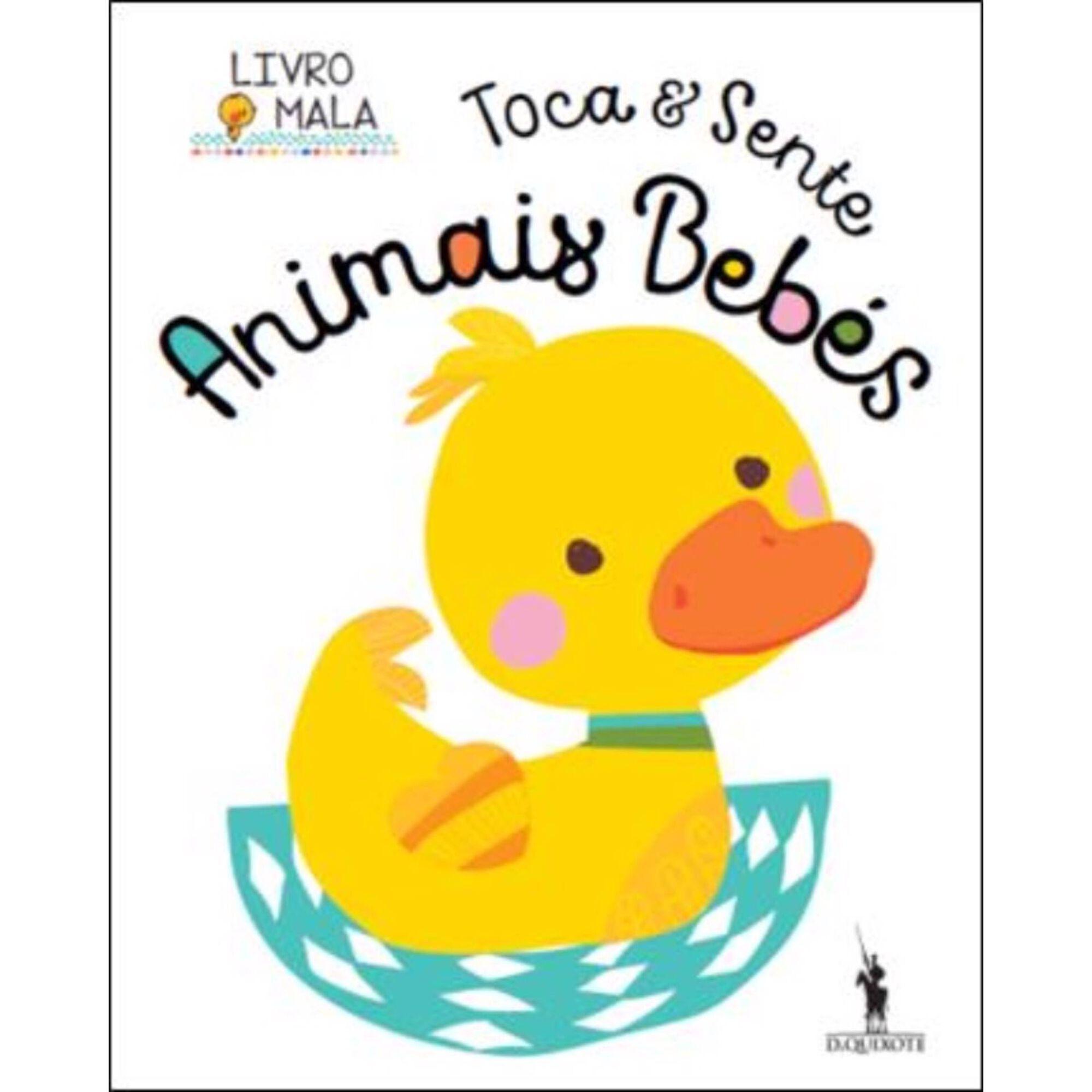 Toca e Sente - Animais Bebés