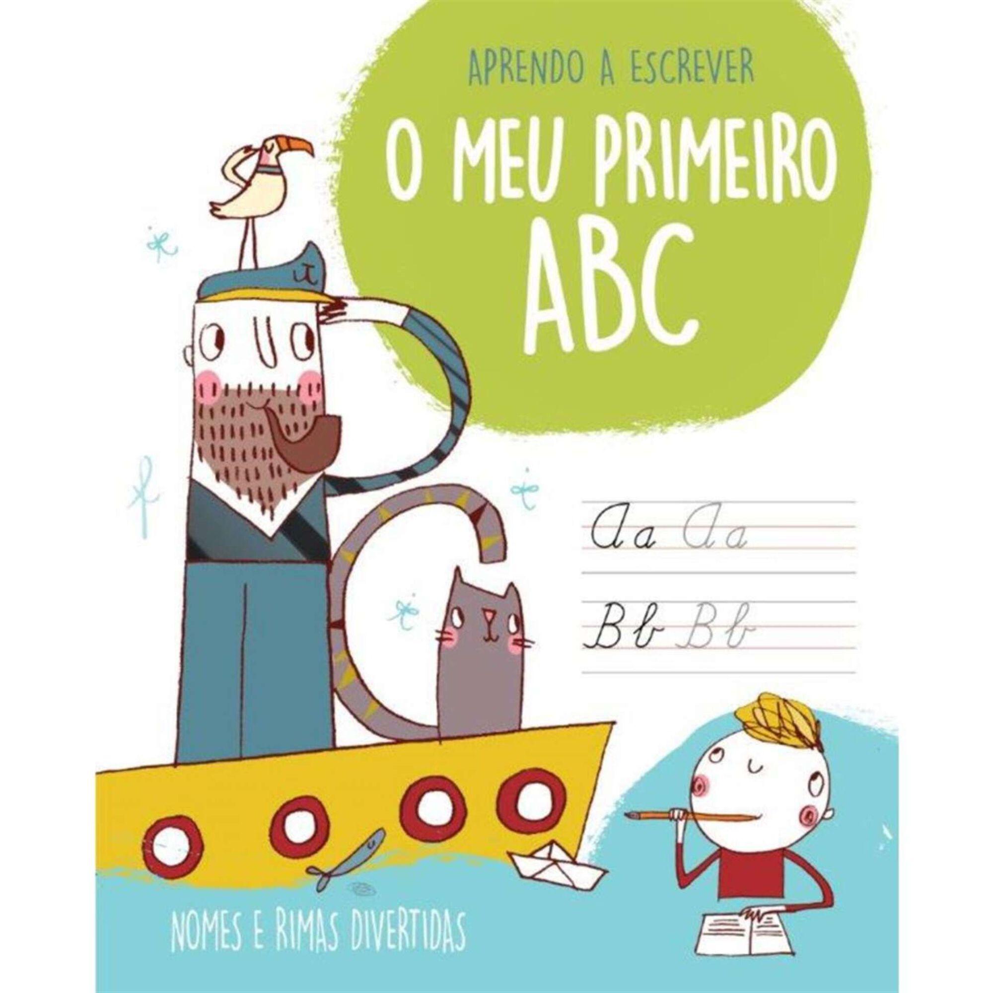 O Meu Primeiro ABC - Nomes de Meninos e Rimas Divertidas