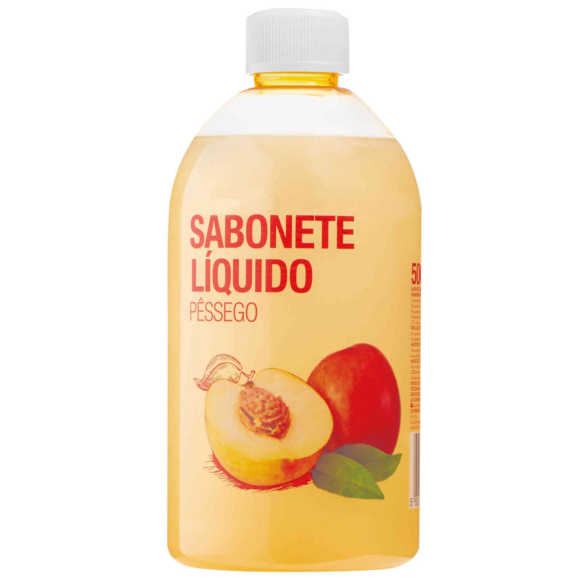 Sabonete Líquido Recarga Pêssego