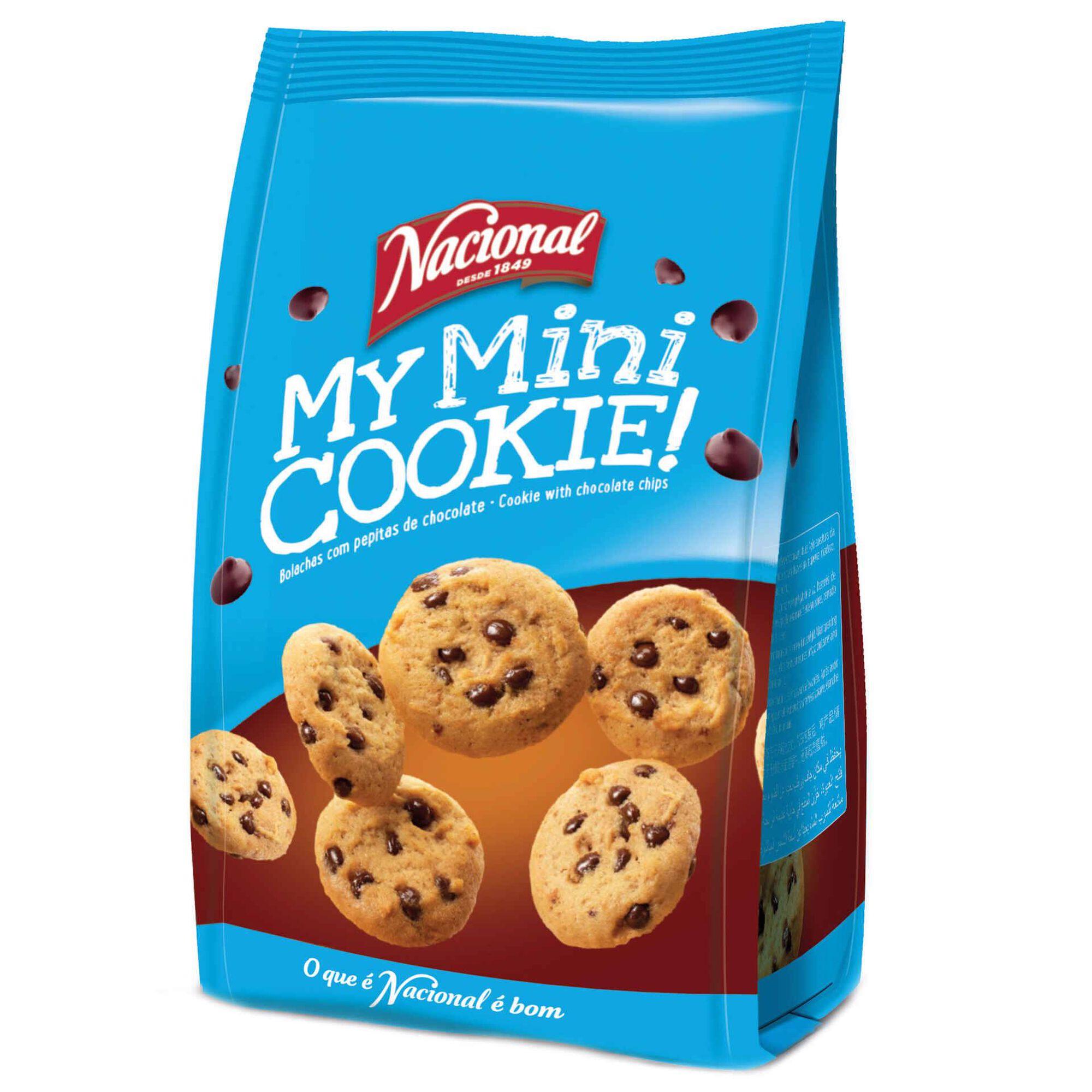 Bolachas My Mini Cookie com Chocolate