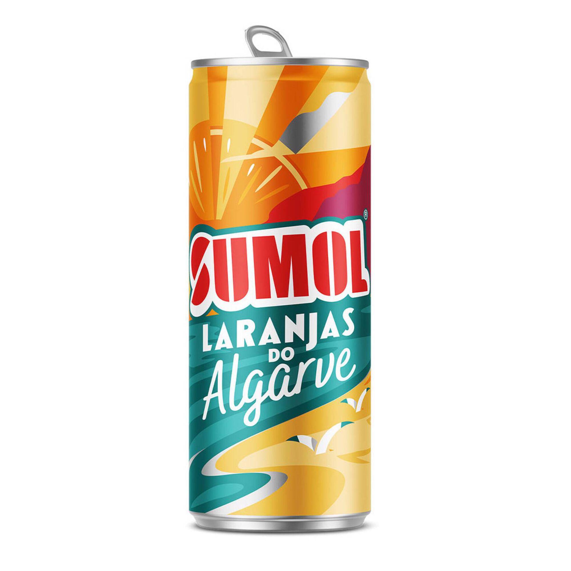 Refrigerante com Gás Laranja Algarve Lata