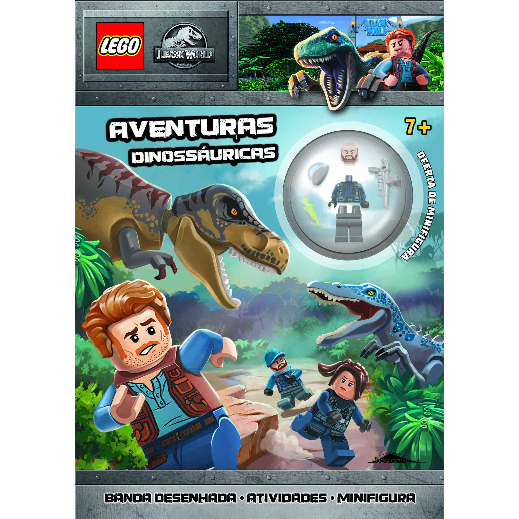 LEGO Jurassic World - Aventuras Dinossáuricas