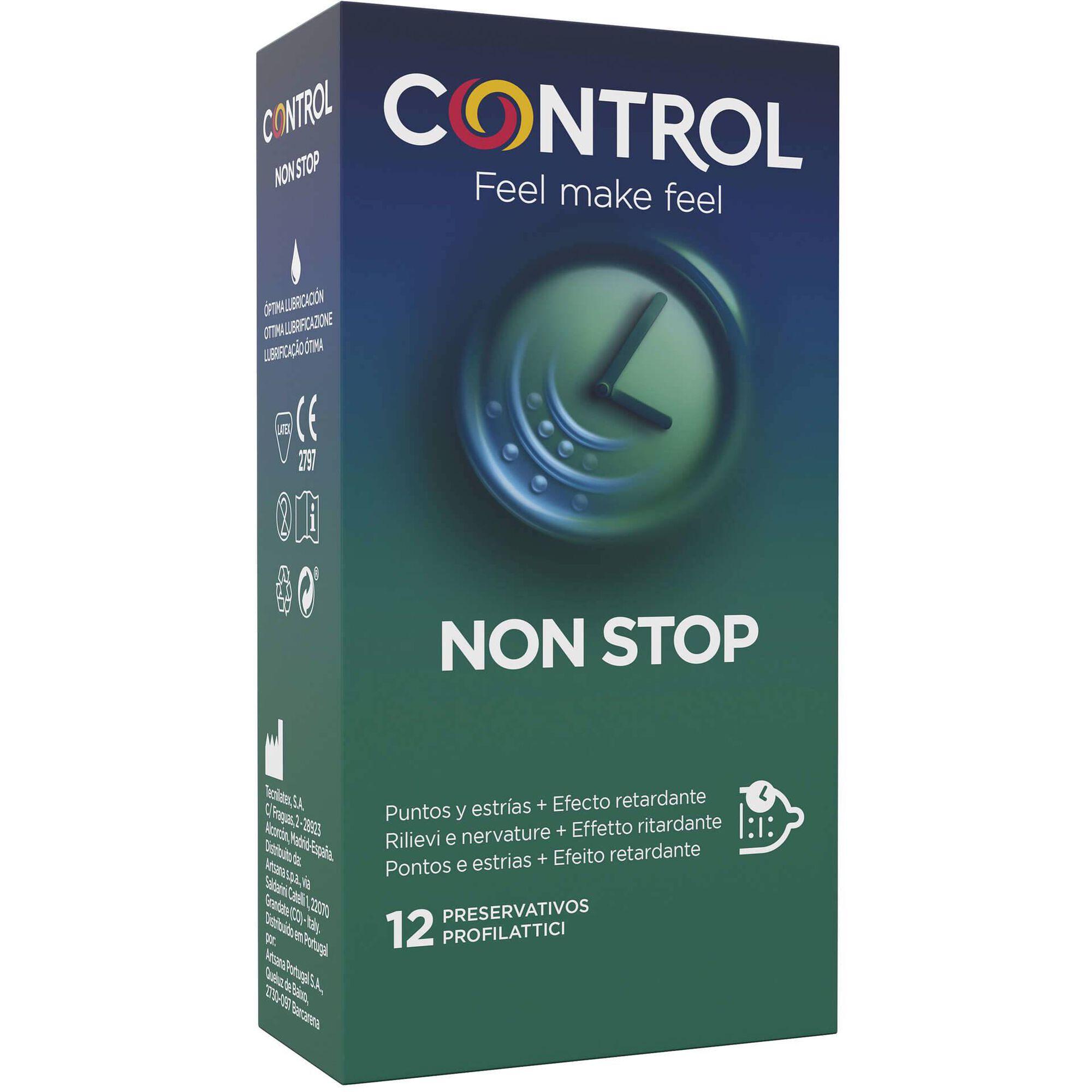 Preservativos Non Stop Dots & Lines