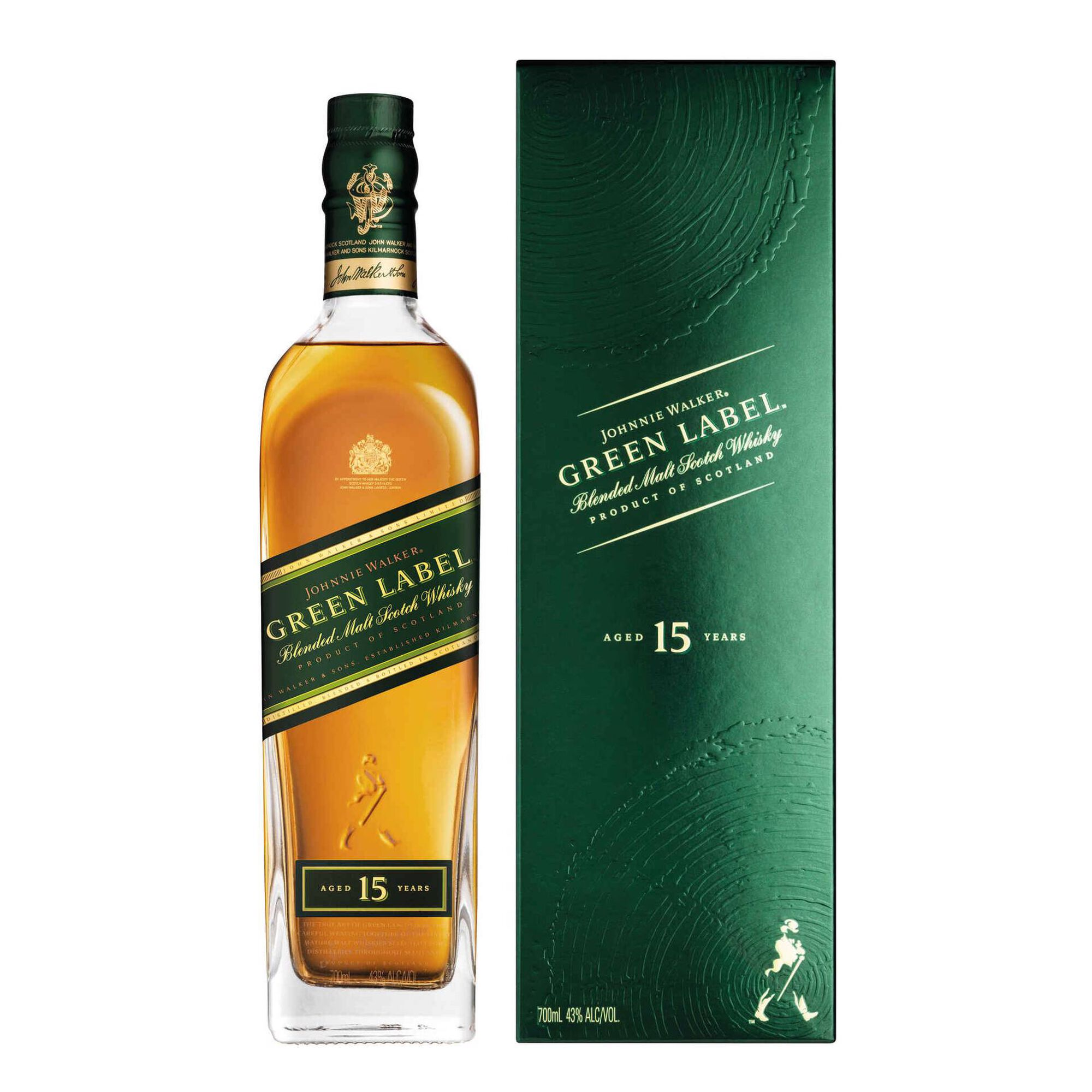 Whisky Johnnie Walker Green Label 15 Anos