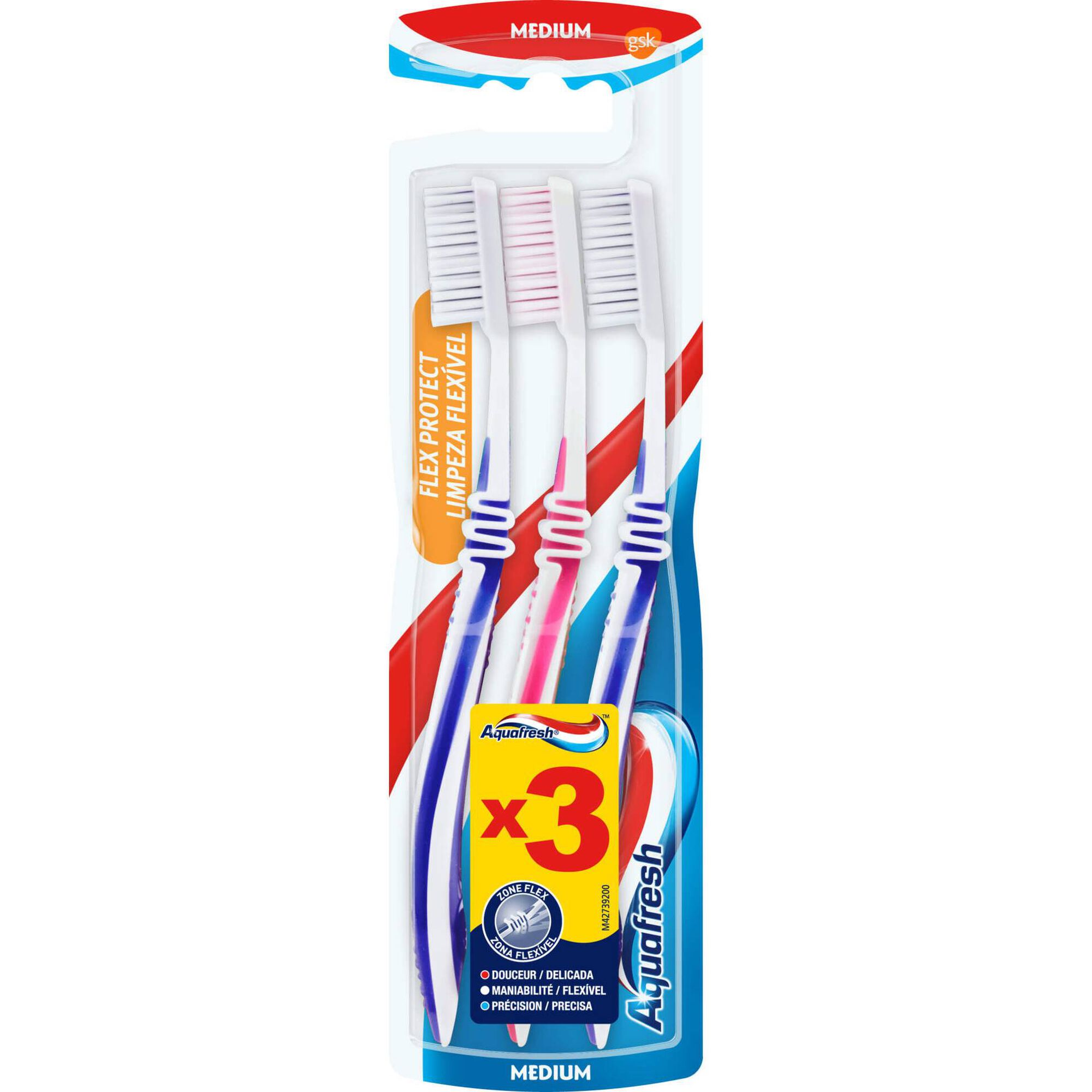 Escova de Dentes Limpeza Flexível